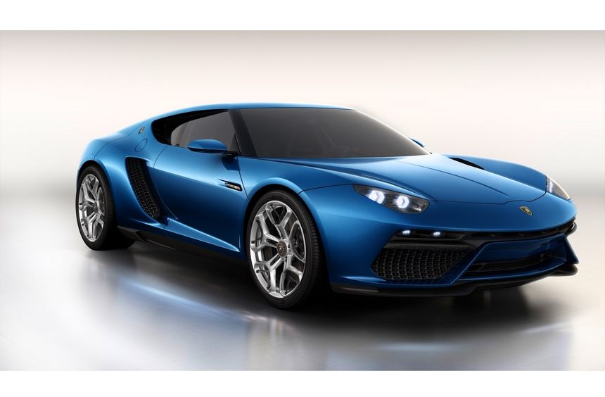 Lamborghini stellt die Studie Asterion vor
