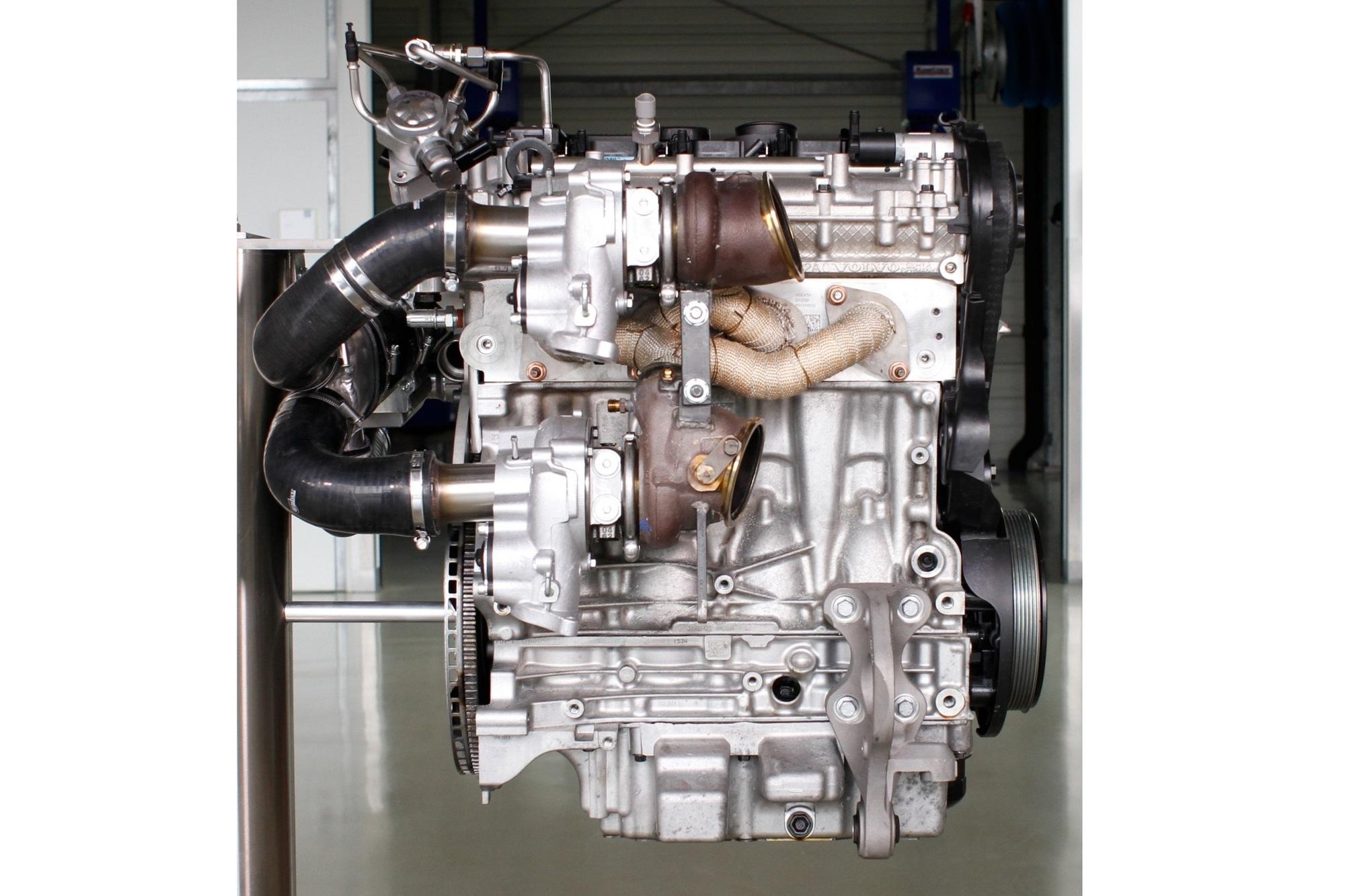 Hochleistungs-Vierzylinder von Volvo - Dreifach drückt besser