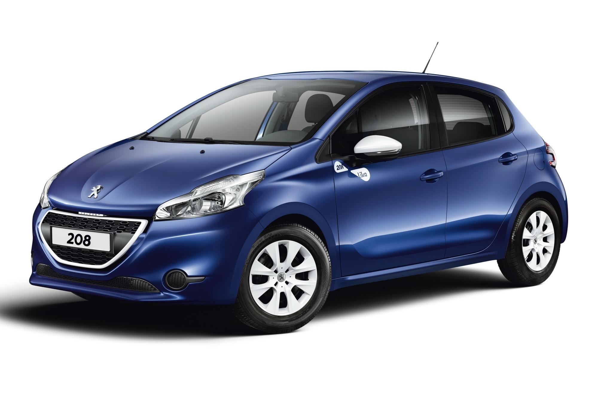 Sonderedition des Peugeot 208 - Daumen hoch
