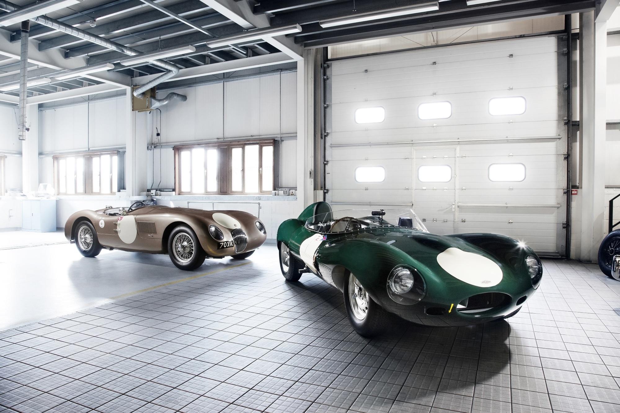 Jaguar-Oldtimer-Veranstaltungen -  Nur einmal D-Type fahren