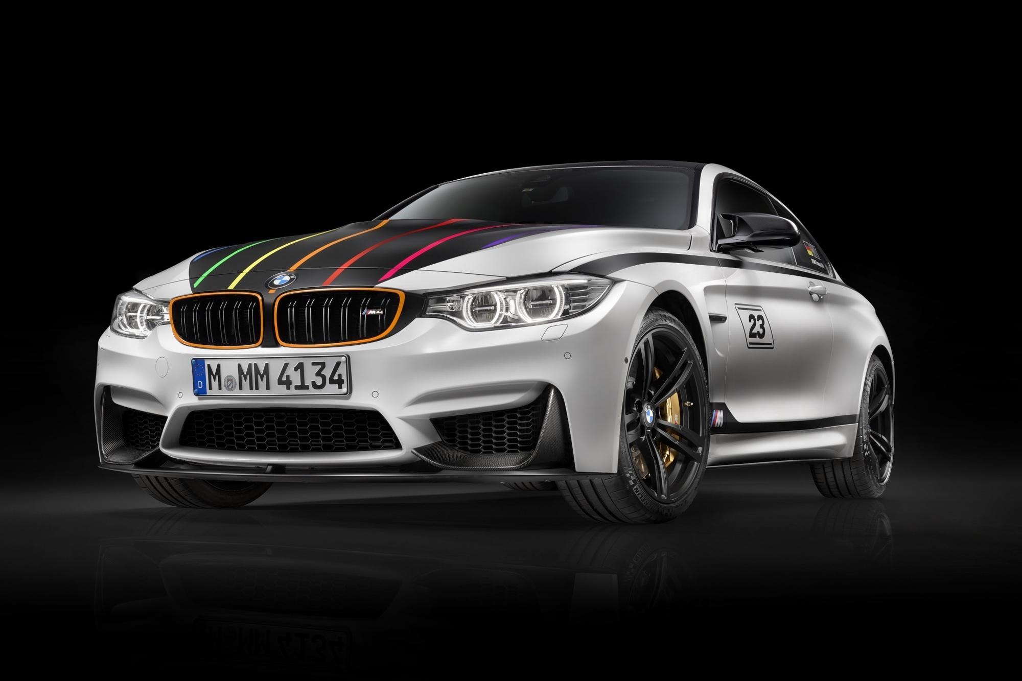 BMW M4 als DTM-Sondermodell - Zur Feier des Sieges