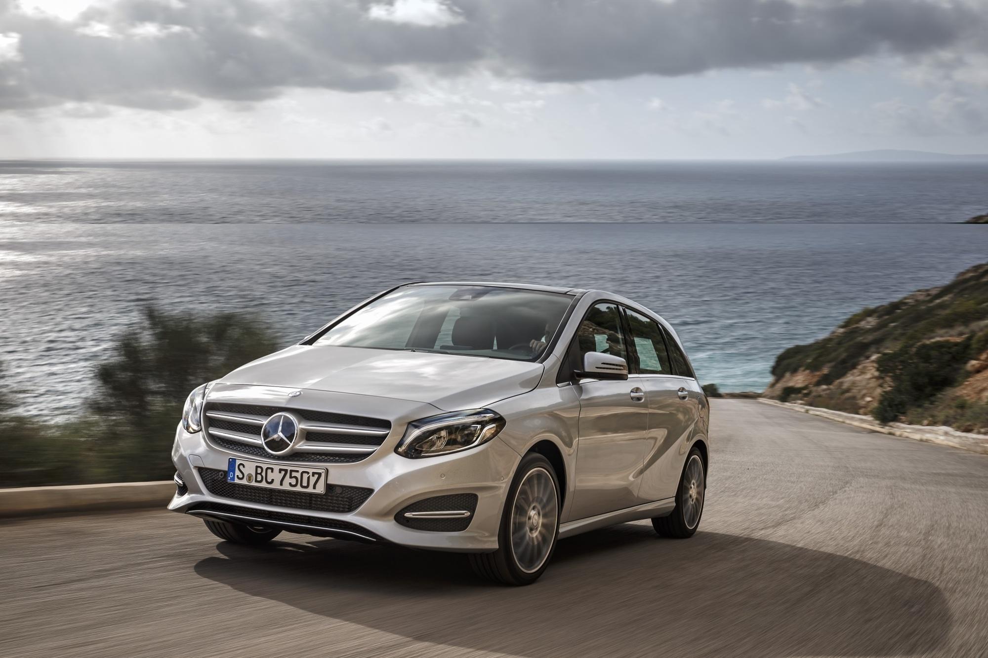 Fahrbericht: Mercedes B-Klasse - Mit Sicherheit punkten