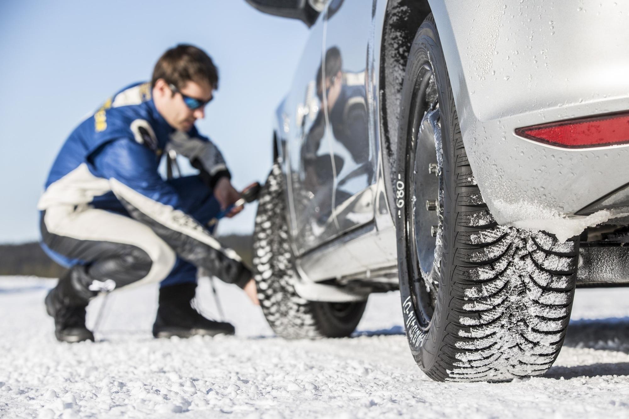 Winterreifen-Tester - Nichts für Ungeduldige und Frostbeulen
