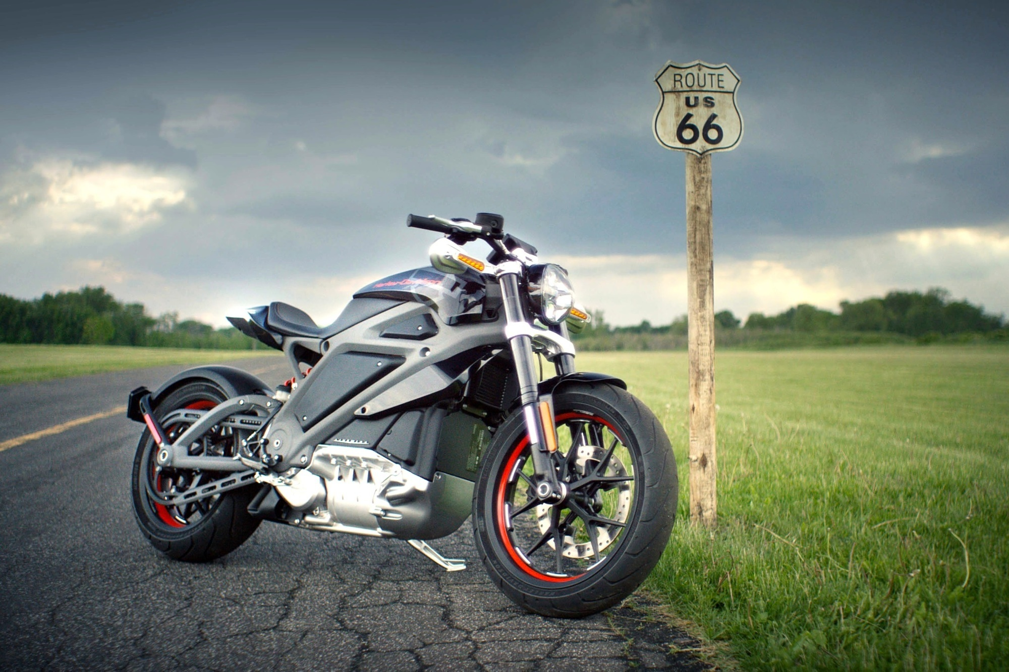 Harley-Davidson blickt in für die Zukunft - Historie trifft Strom