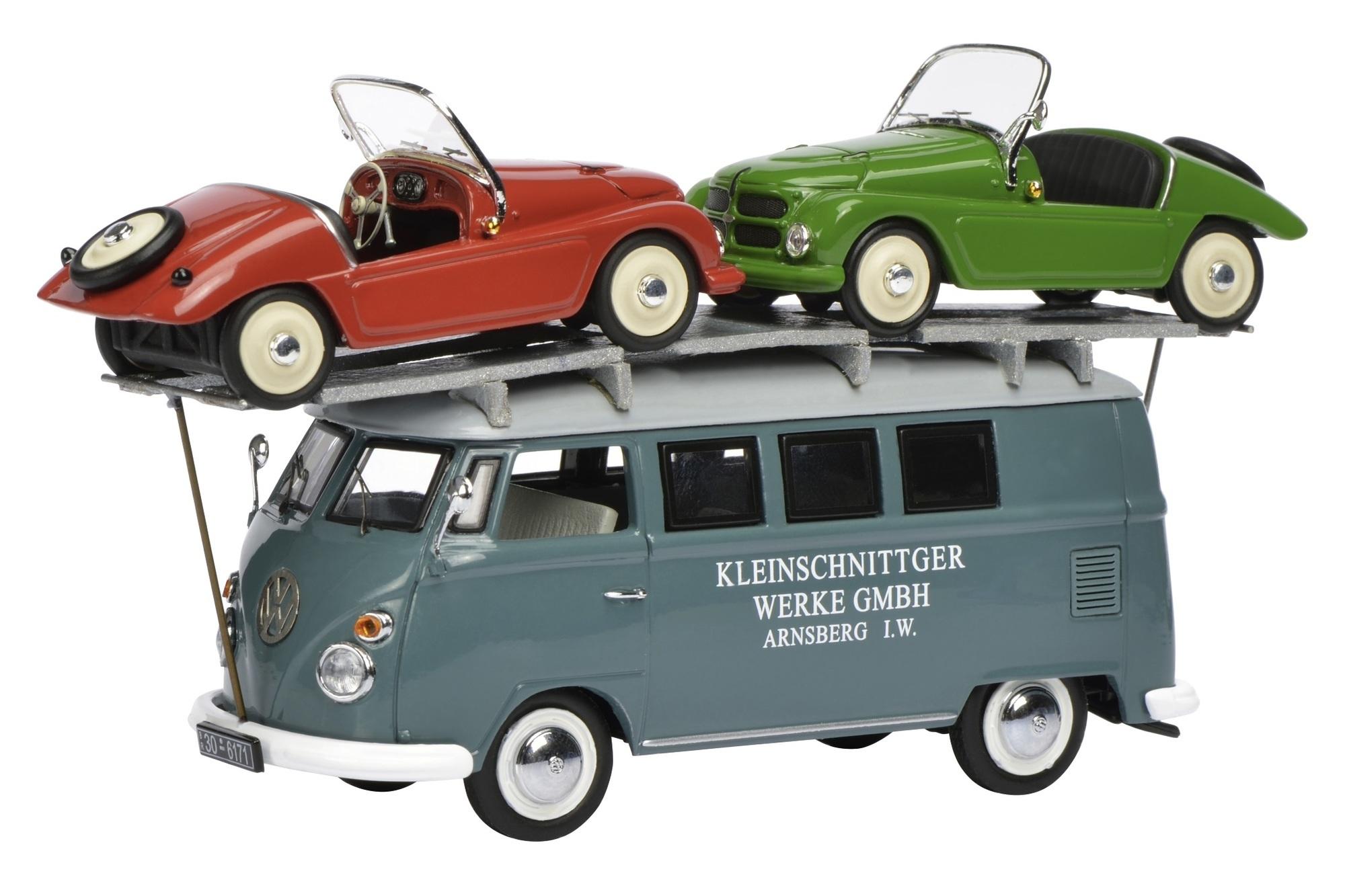 Modellfahrzeuge des Jahres 2014 - Trio mit zwölf Rädern