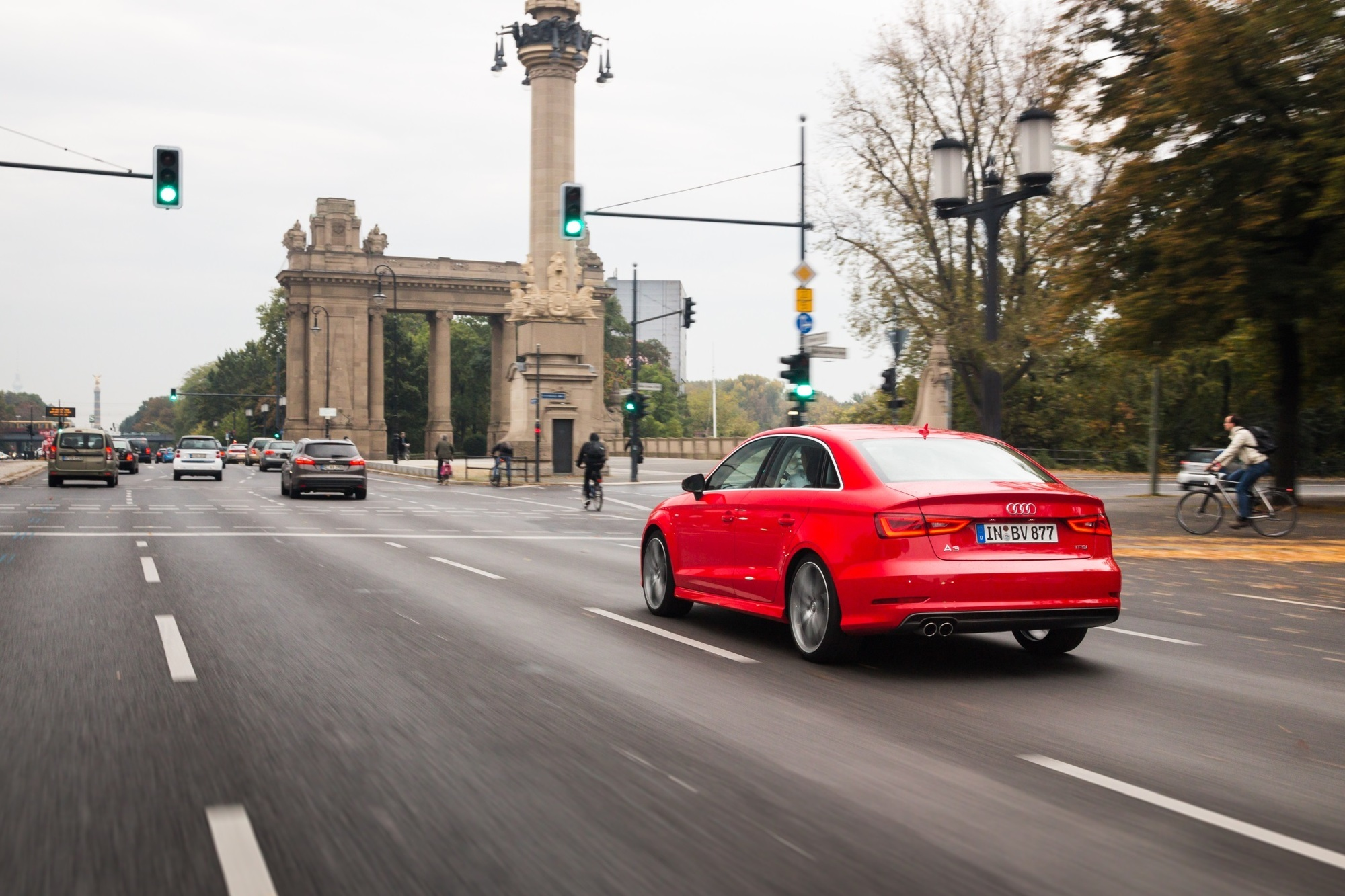 Audi Ampelassistent - Smart durch die City