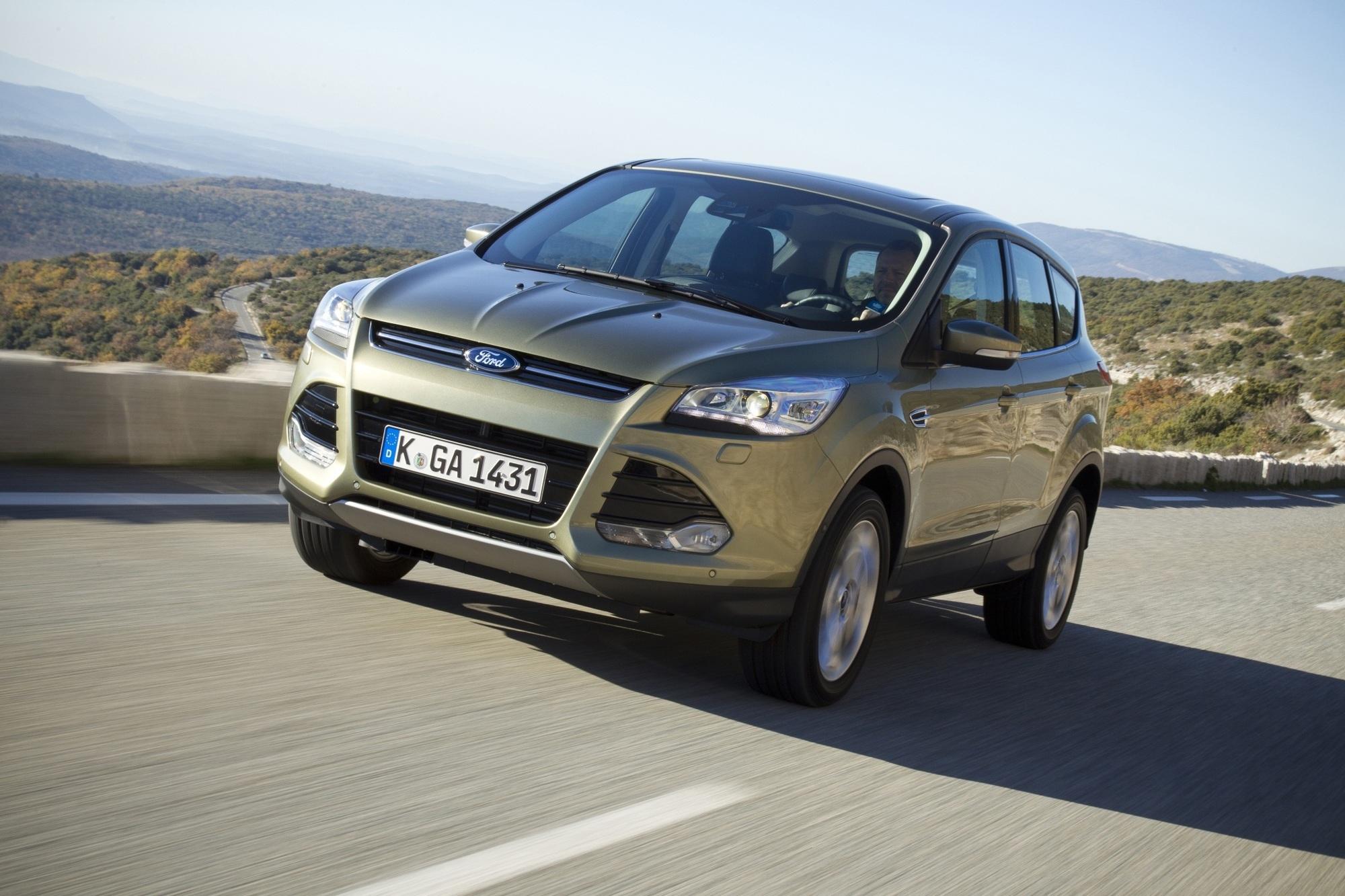 Ford Kuga mit neuen Motoren - Mehr Leistung, weniger Verbrauch