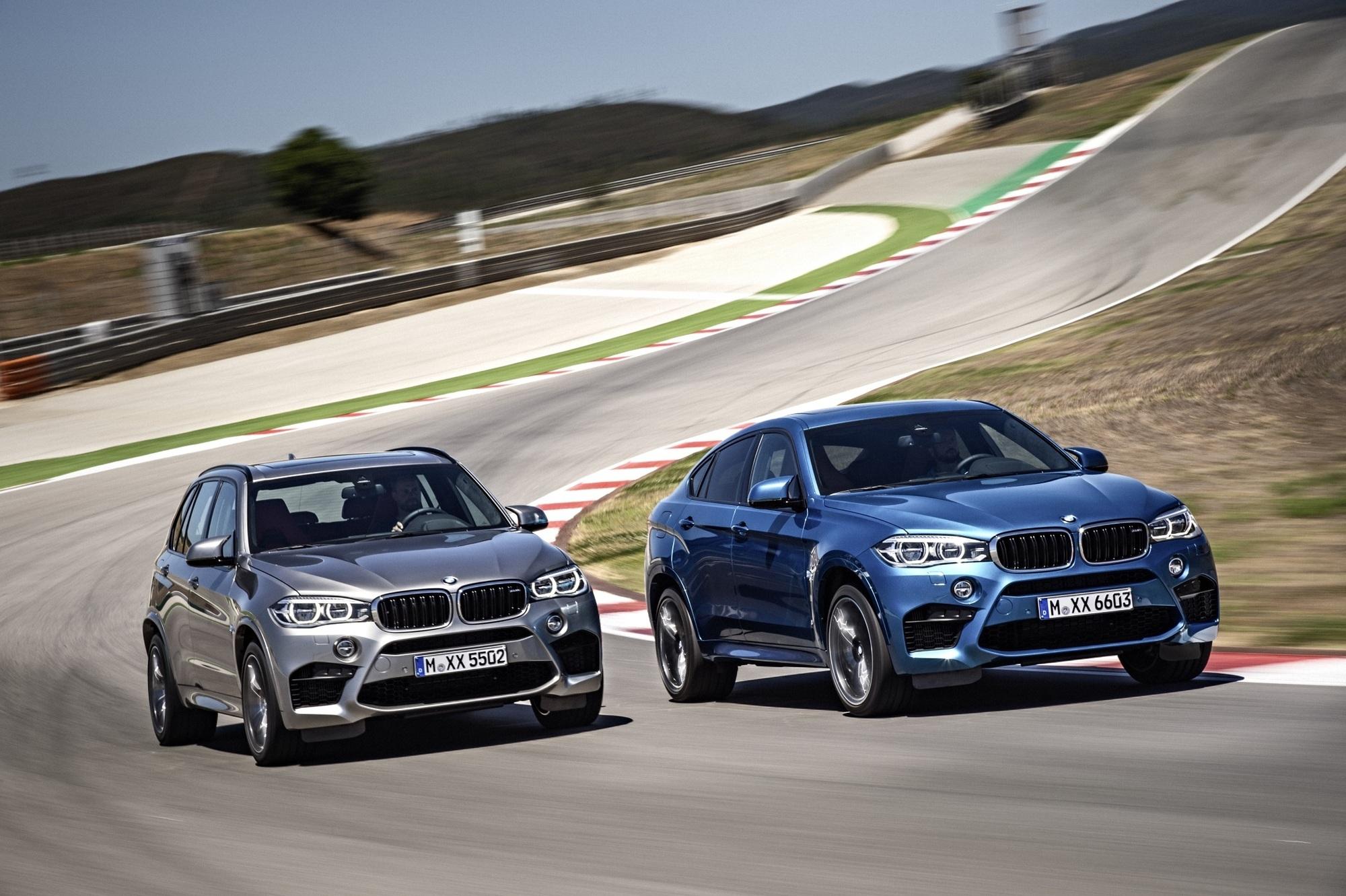 BMW X5 M und X6 M - Zwei Kraftprotze im Tiefflug