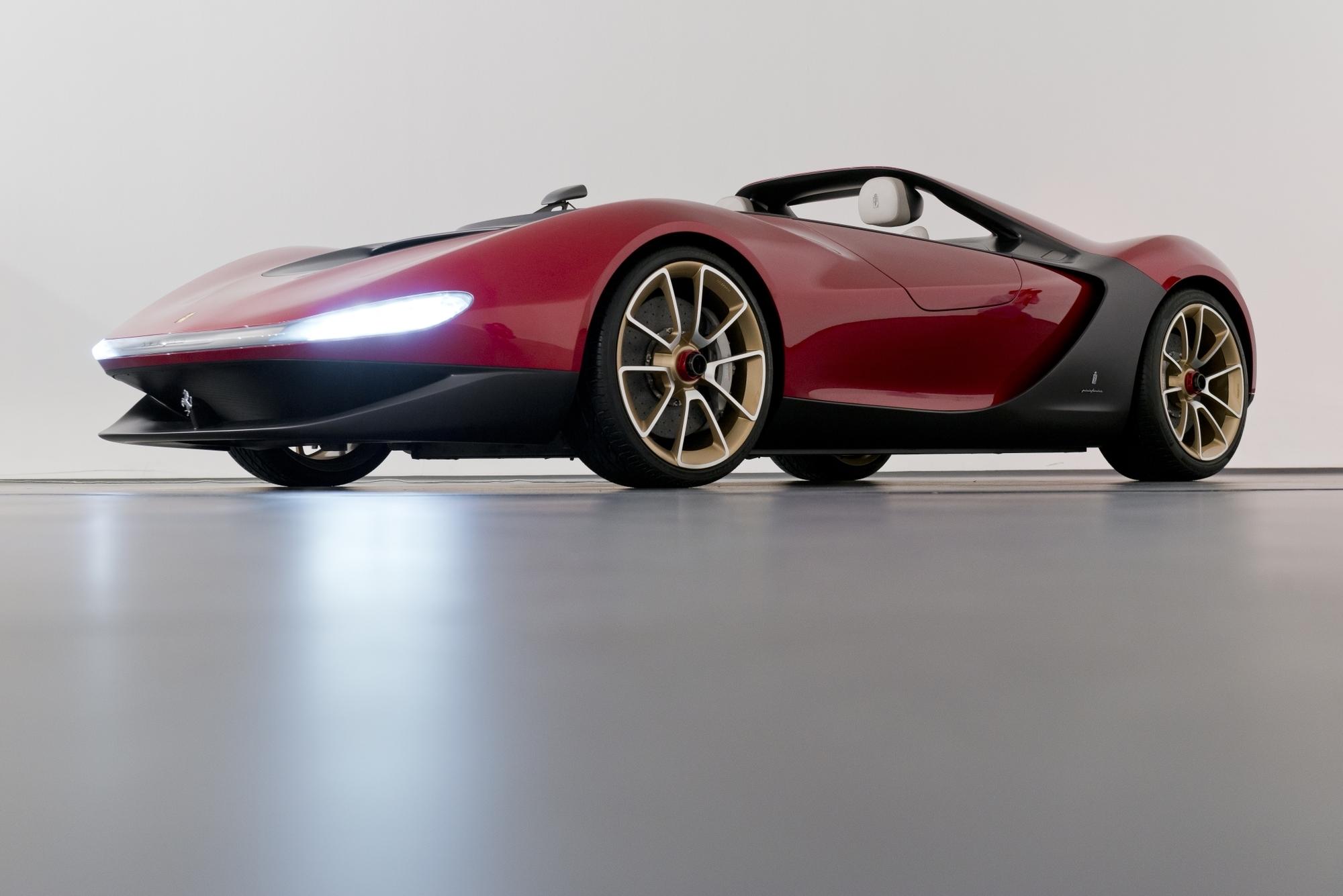 Ferrari Pininfarina Sergio - Mögliche Kleinserie