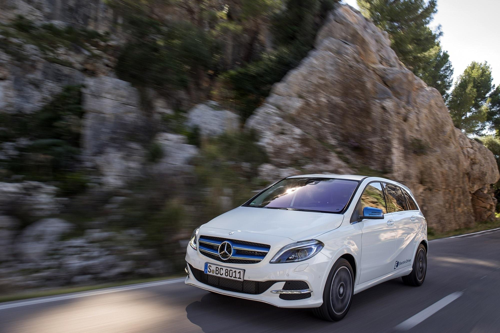 Fahrbericht: Mercedes B-Klasse Electric Drive - Unspektakulär verstromt