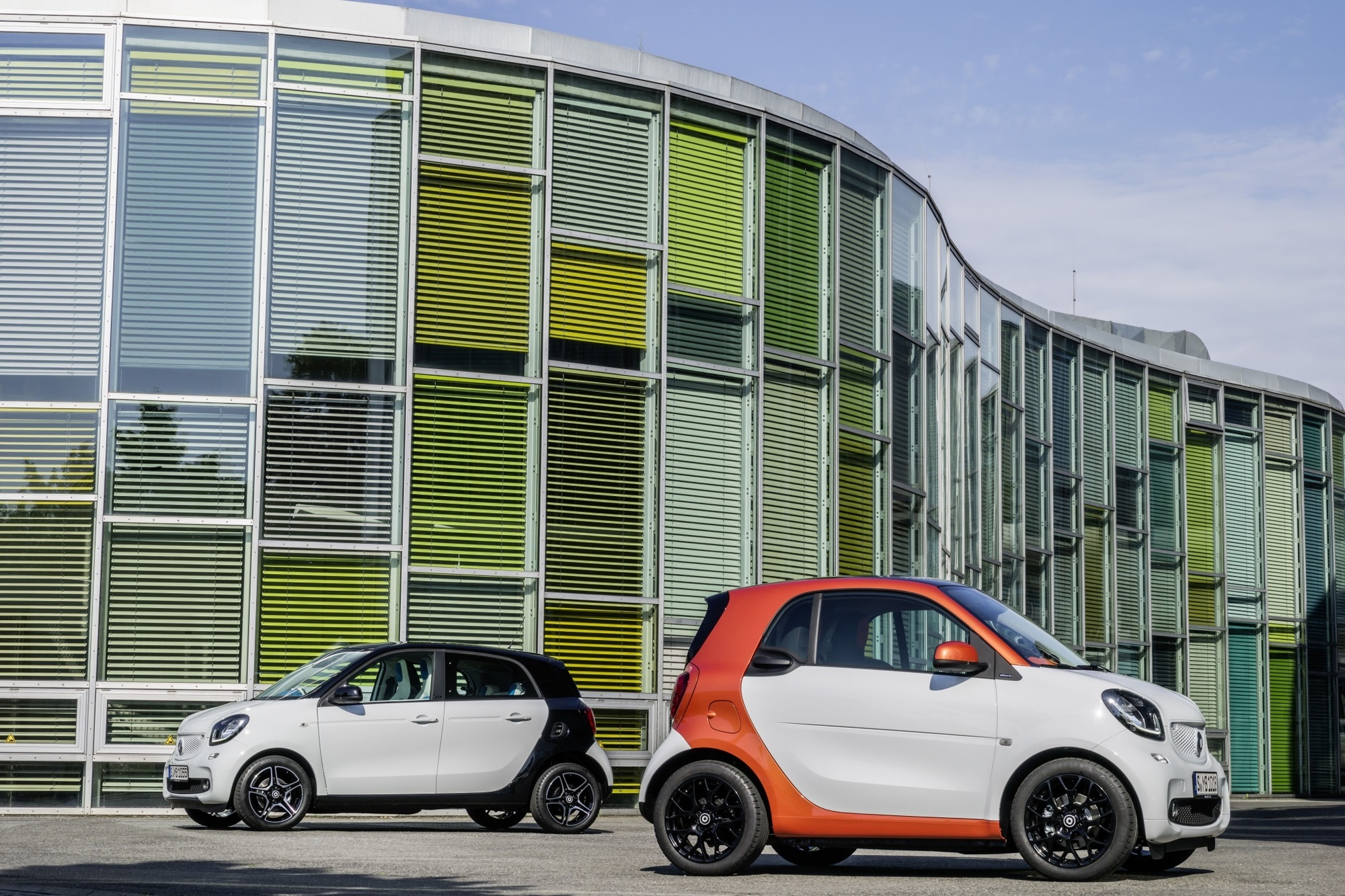 Fahrbericht: Smart Fortwo und Smart Forfour - Kurz und würzig