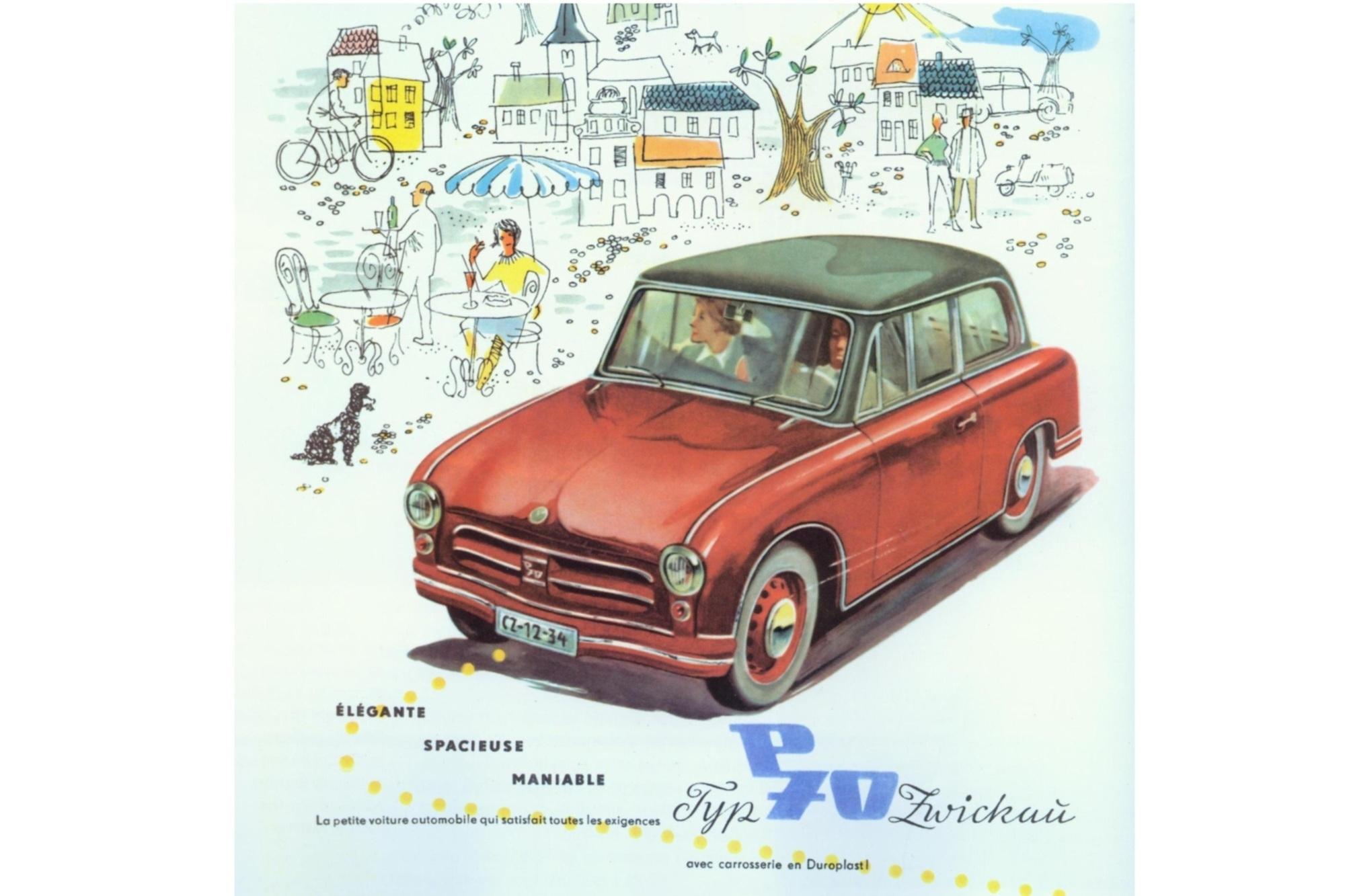 Autos aus der DDR - Auch die westliche Welt als Feld