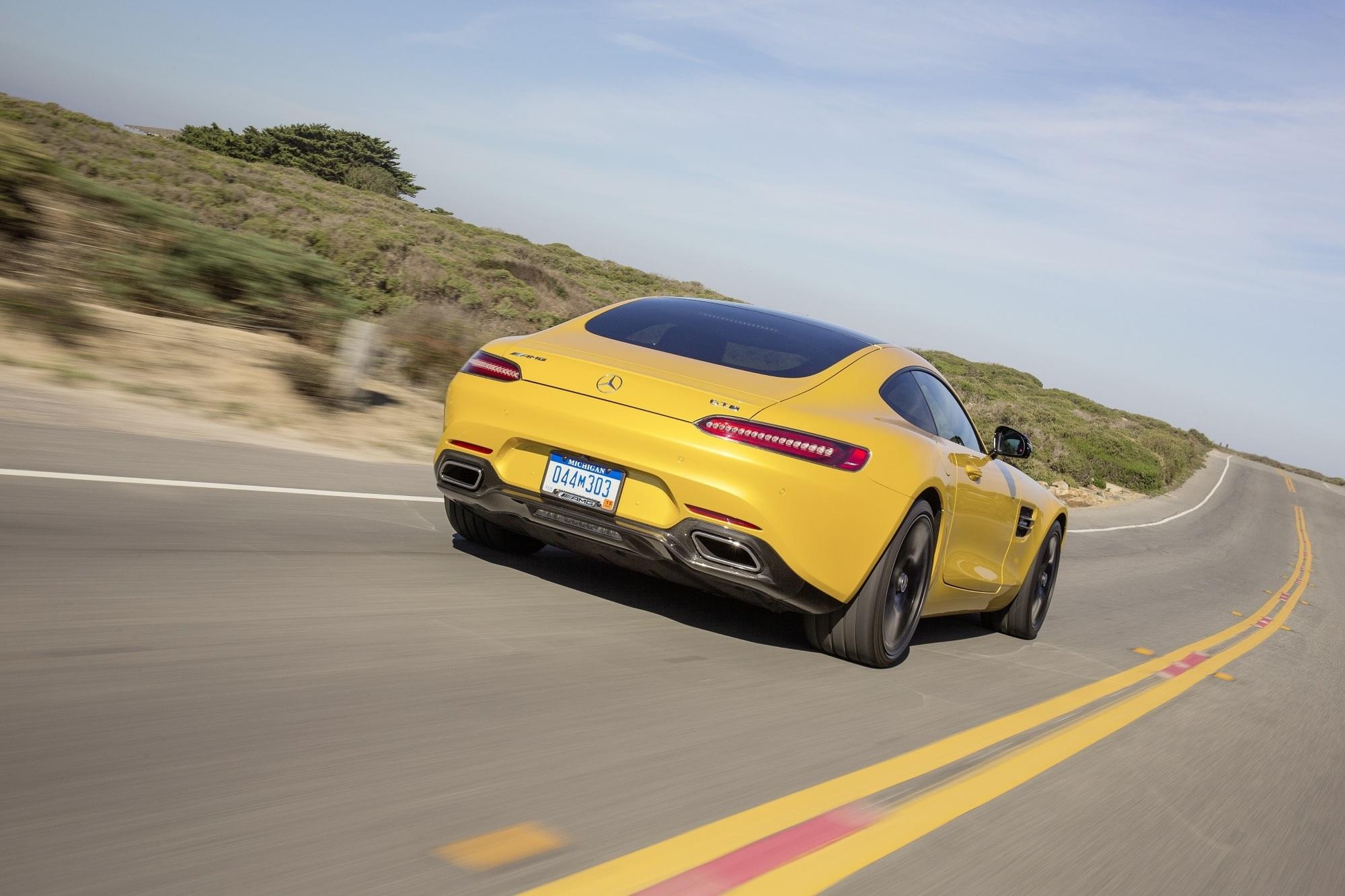 Fahrbericht: Mercedes-AMG GT S - Hintenrum echt heiß