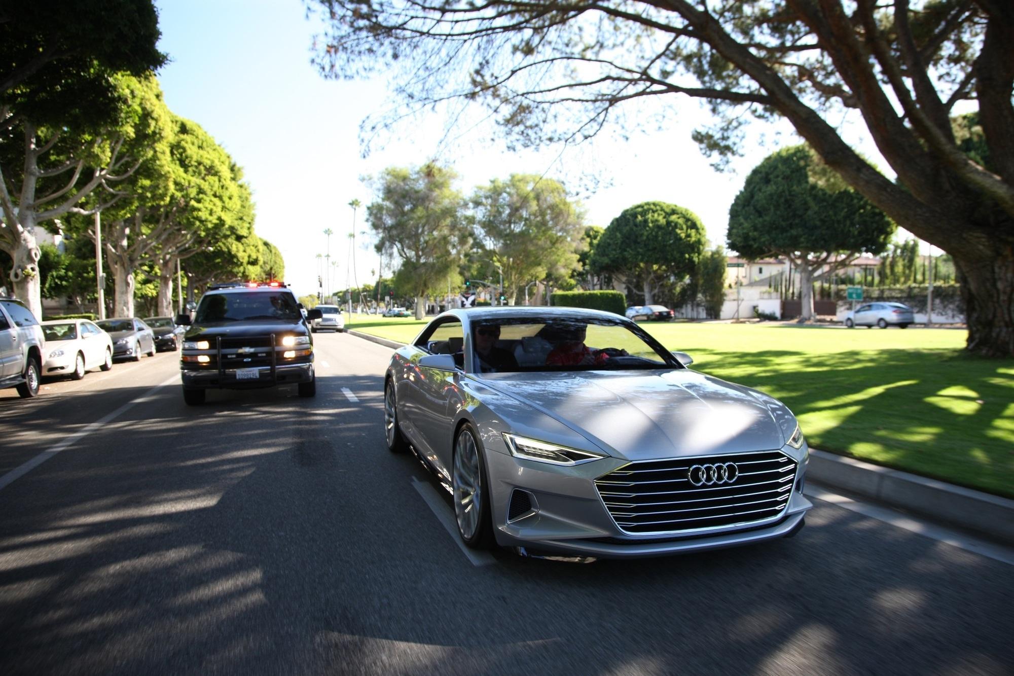 Audi Prologue - Vorspiel in den Straßen von Hollywood