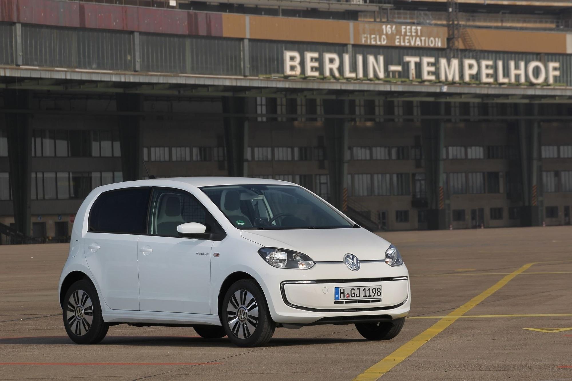 VW E-Load Up - Ohne Rückbank und Emissionen