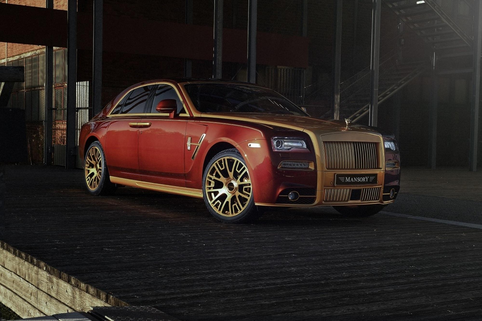 Rolls-Royce Ghost von Mansory - Schneller und breiter