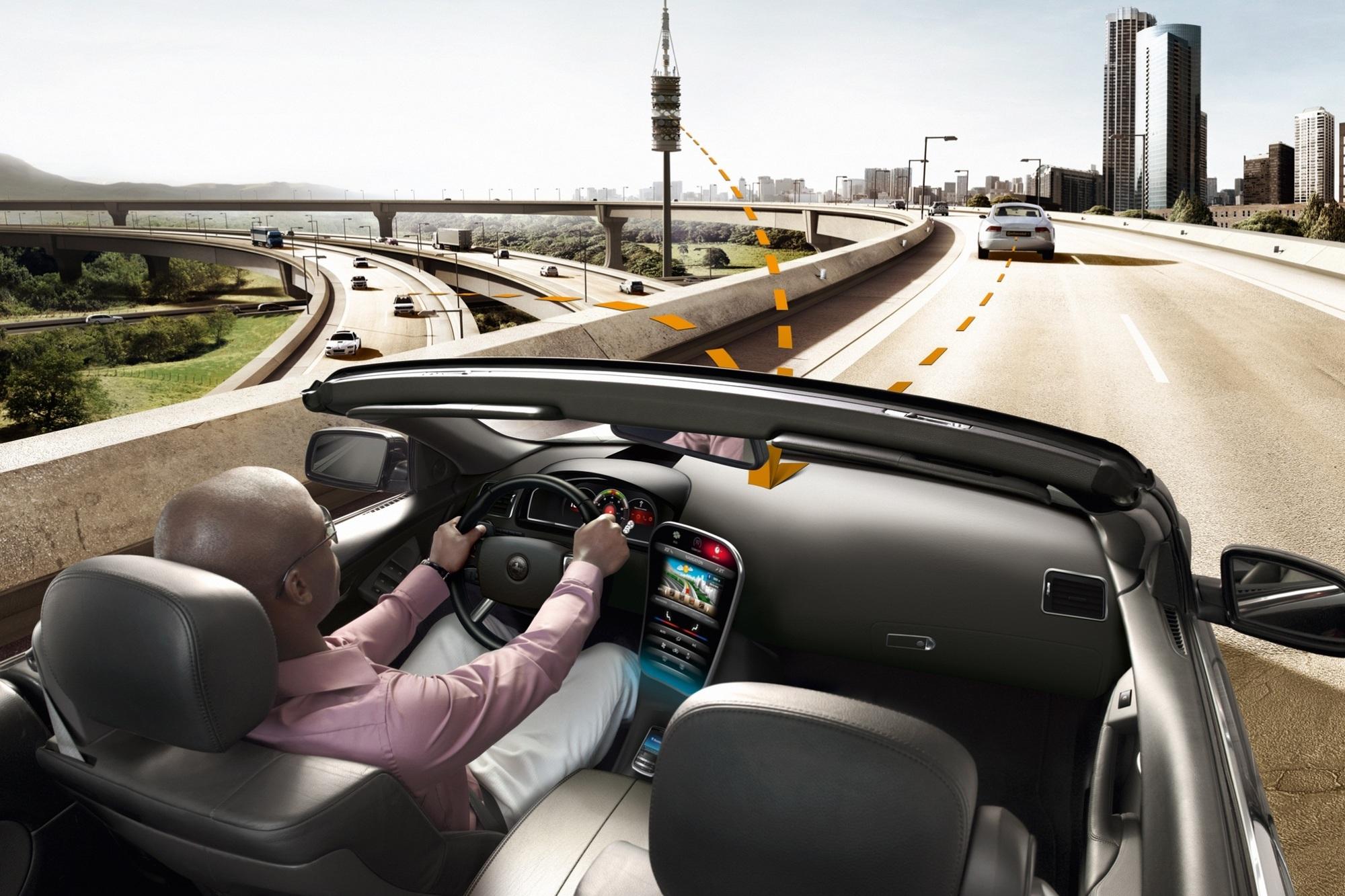Vernetztes Fahren - Das Auto wird zum Datencenter