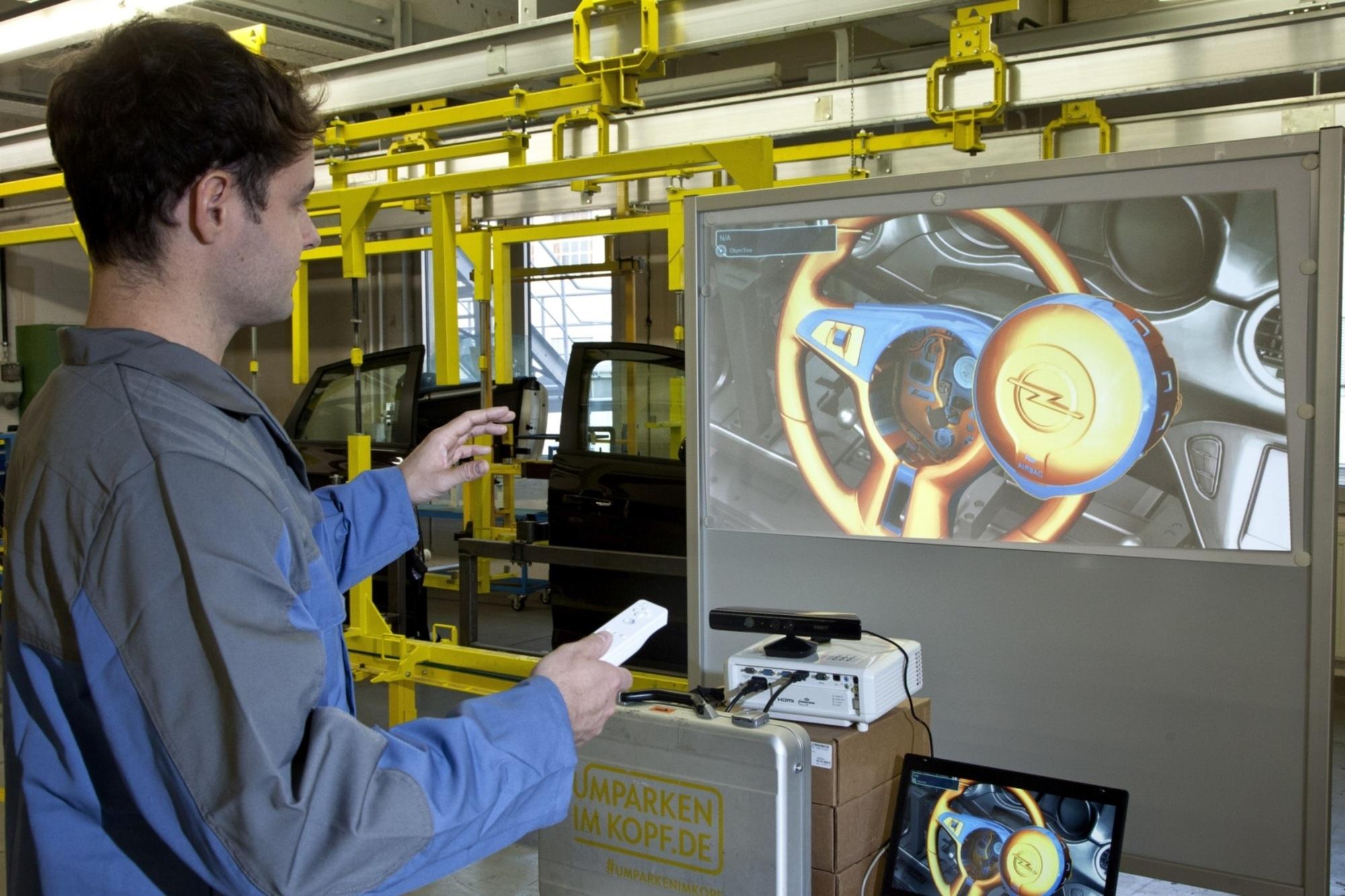 Panorama: Spielen statt schrauben - Bei Opel trainieren die Werker bald an der Wii