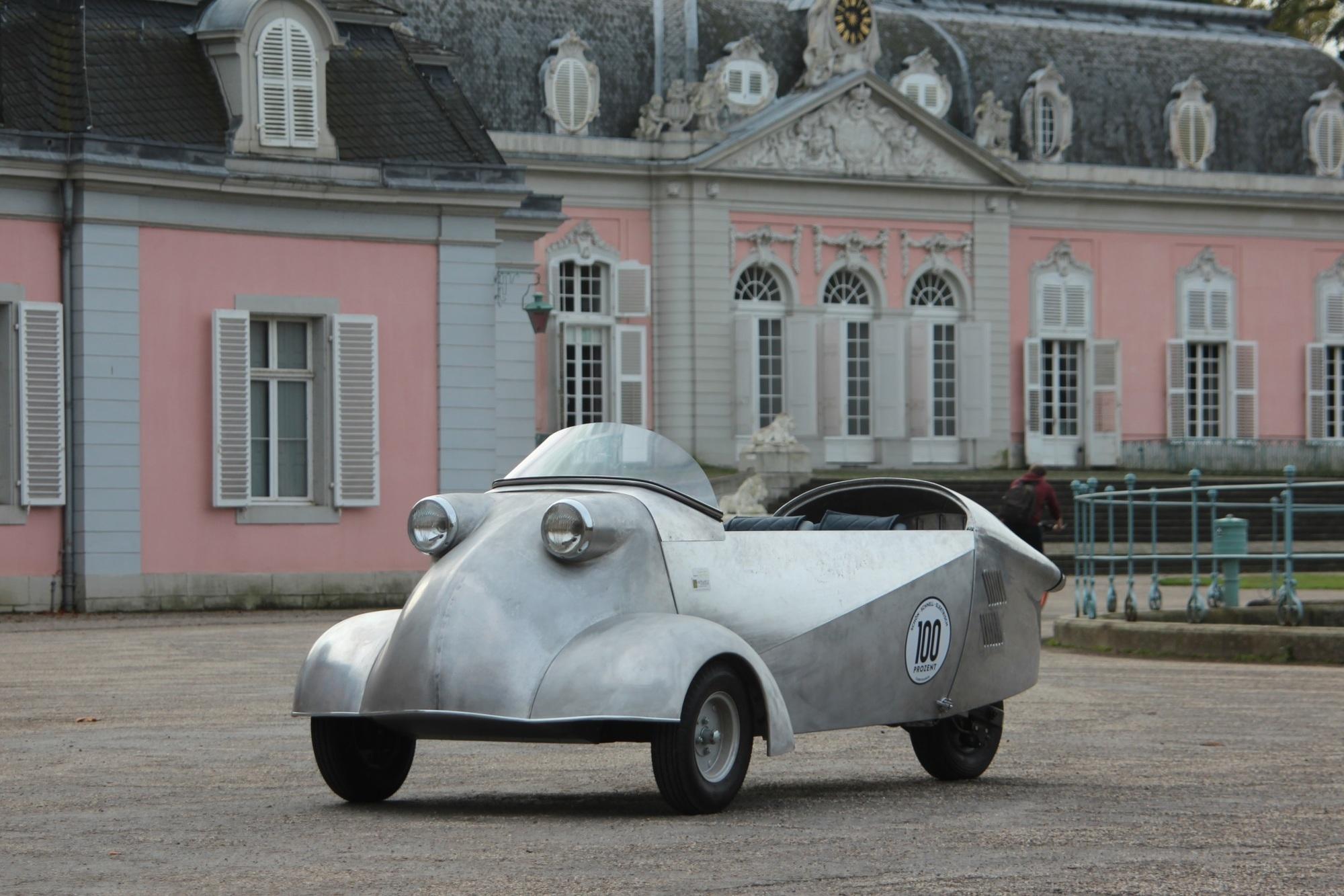 Panorama: Elektrischer Messerschmitt - Zukunft in alten Gewändern