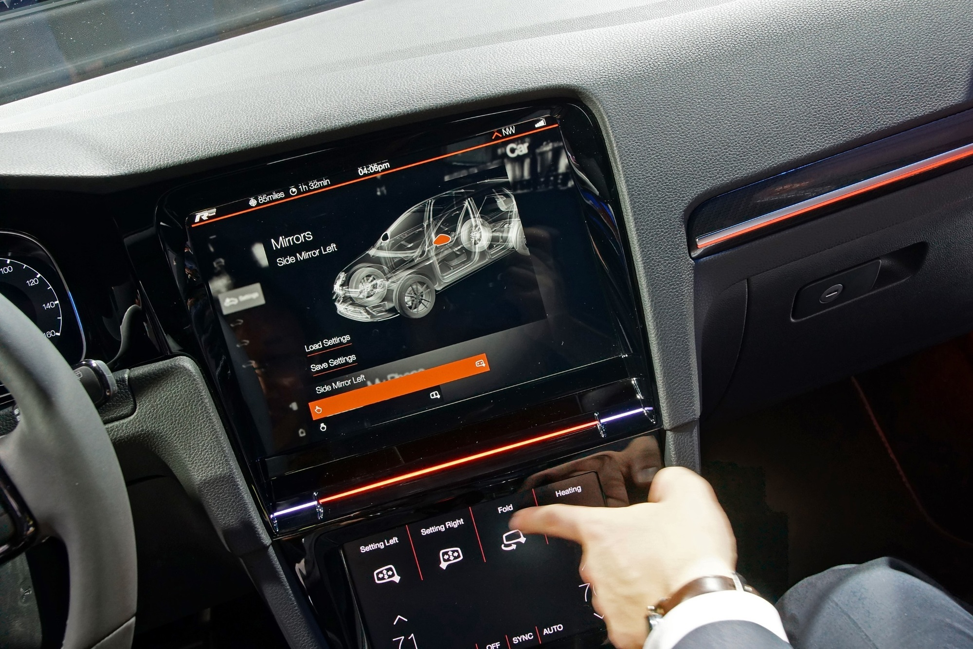 Volkswagen-Zukunftstechnologien  - Einmal wischen bitte