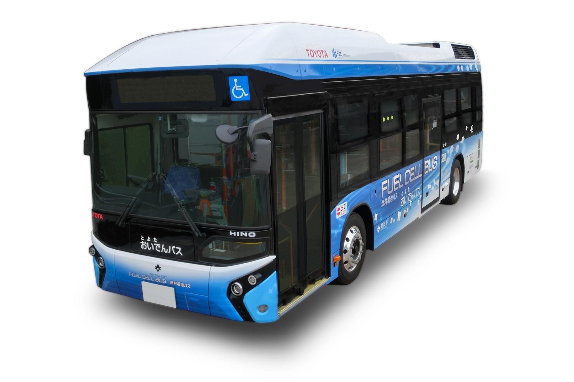 Brennstoffzellenbus von Toyota - Ein Mirai mit 76 Plätzen