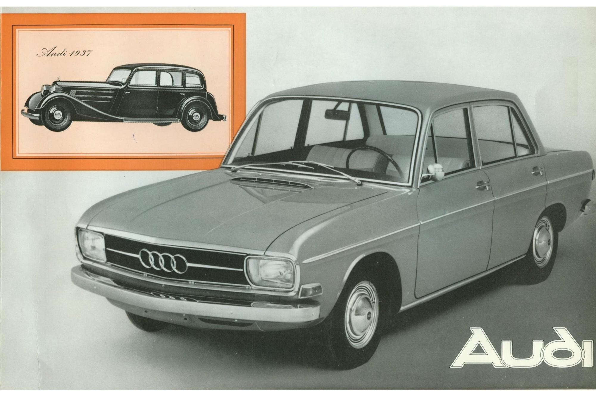 Tradition: 50 Jahre Audi-Nachkriegsmodelle (Baureihe F 103, Typen 60 bis Super 90) - Mit Mitteldruck in die Mittelklasse