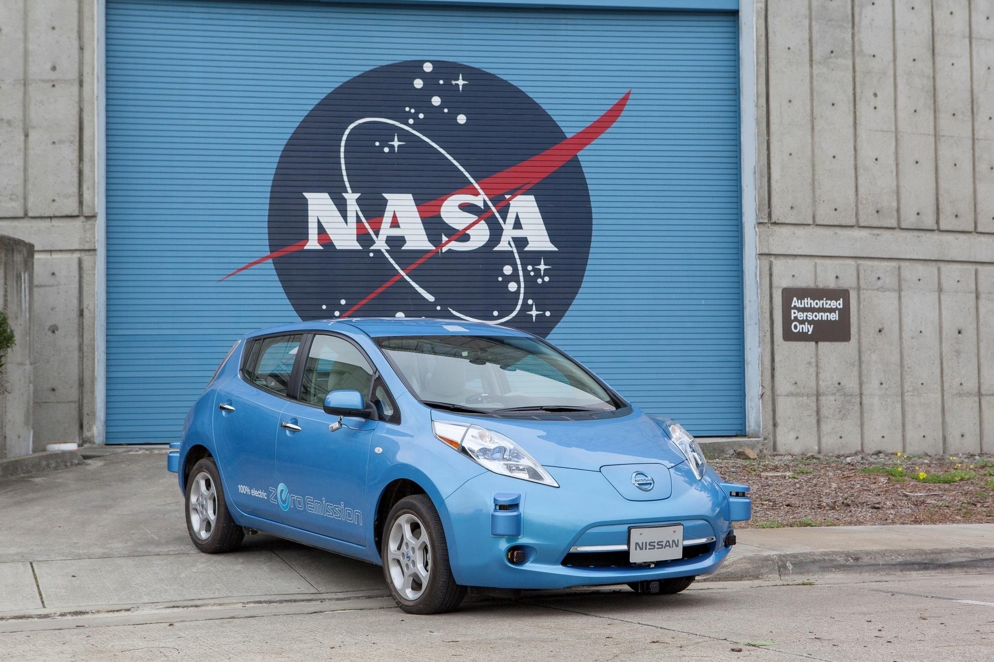Nissan kooperiert mit NASA - Roboterautos für den Mars und die Erde