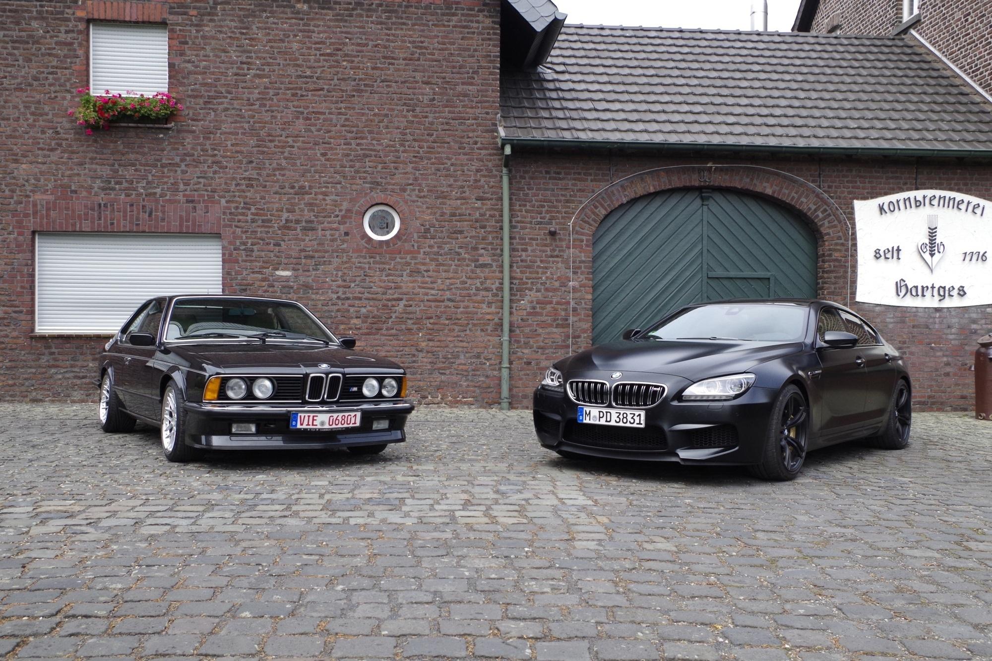Youngtimer im Test: Impression BMW M635 CSi und M6 Gran Coupé - Zwei Schwarze M