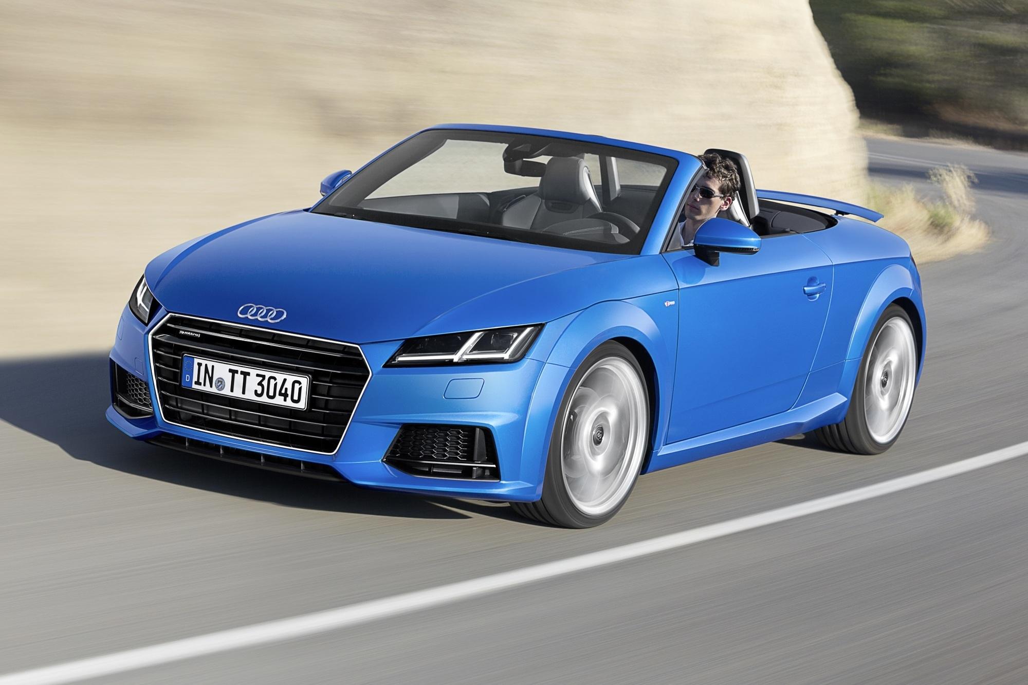 Fahrbericht: Audi TT Roadster - Ein bisschen Spaß muss sein