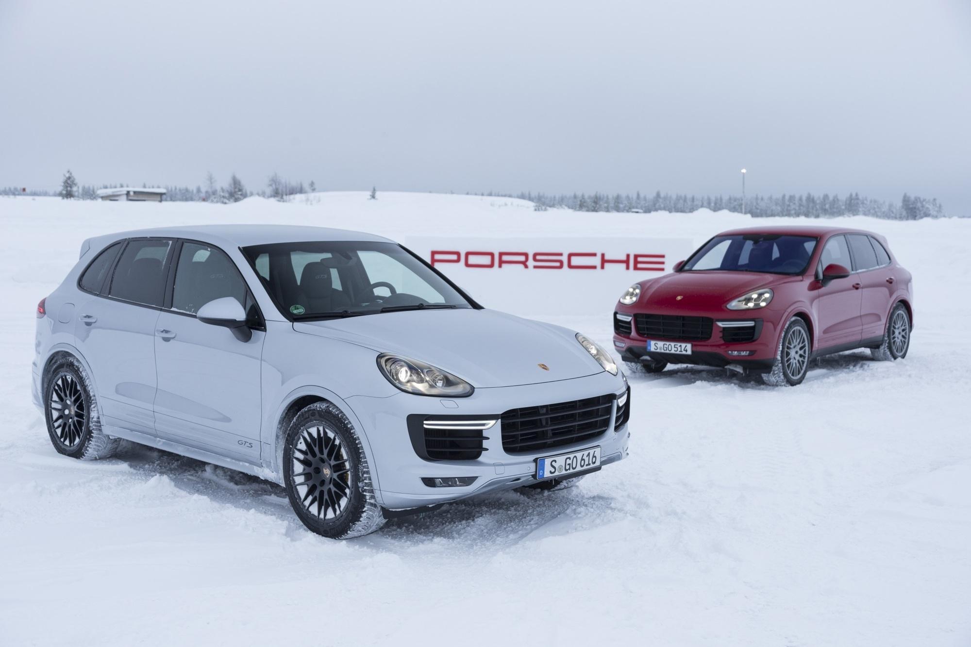 Fahrbericht: Porsche Cayenne GTS und Turbo S - Könige der Löwen