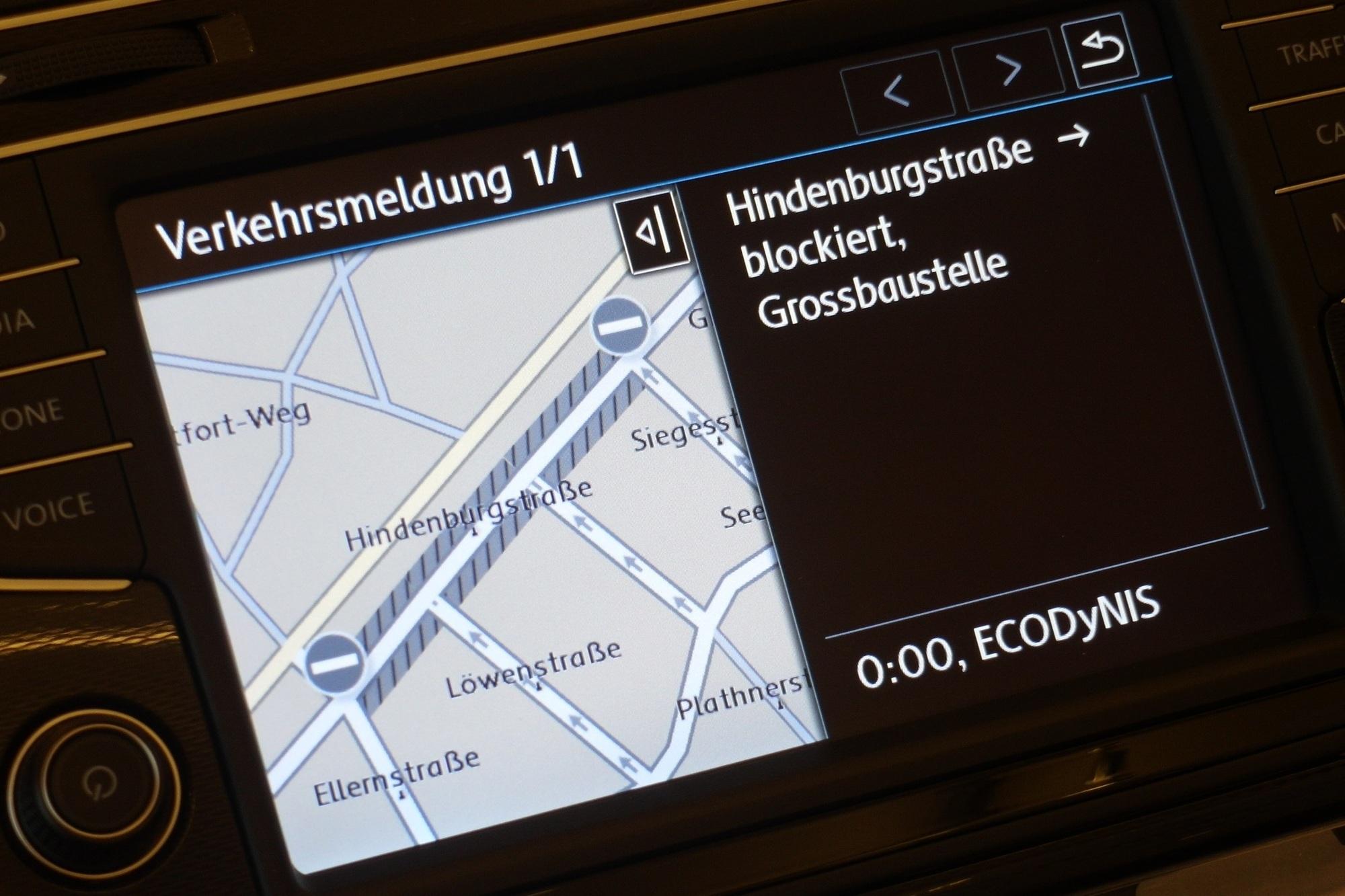 Neue Verkehrsinfos fürs Navi - Staumelder für Innenstädte