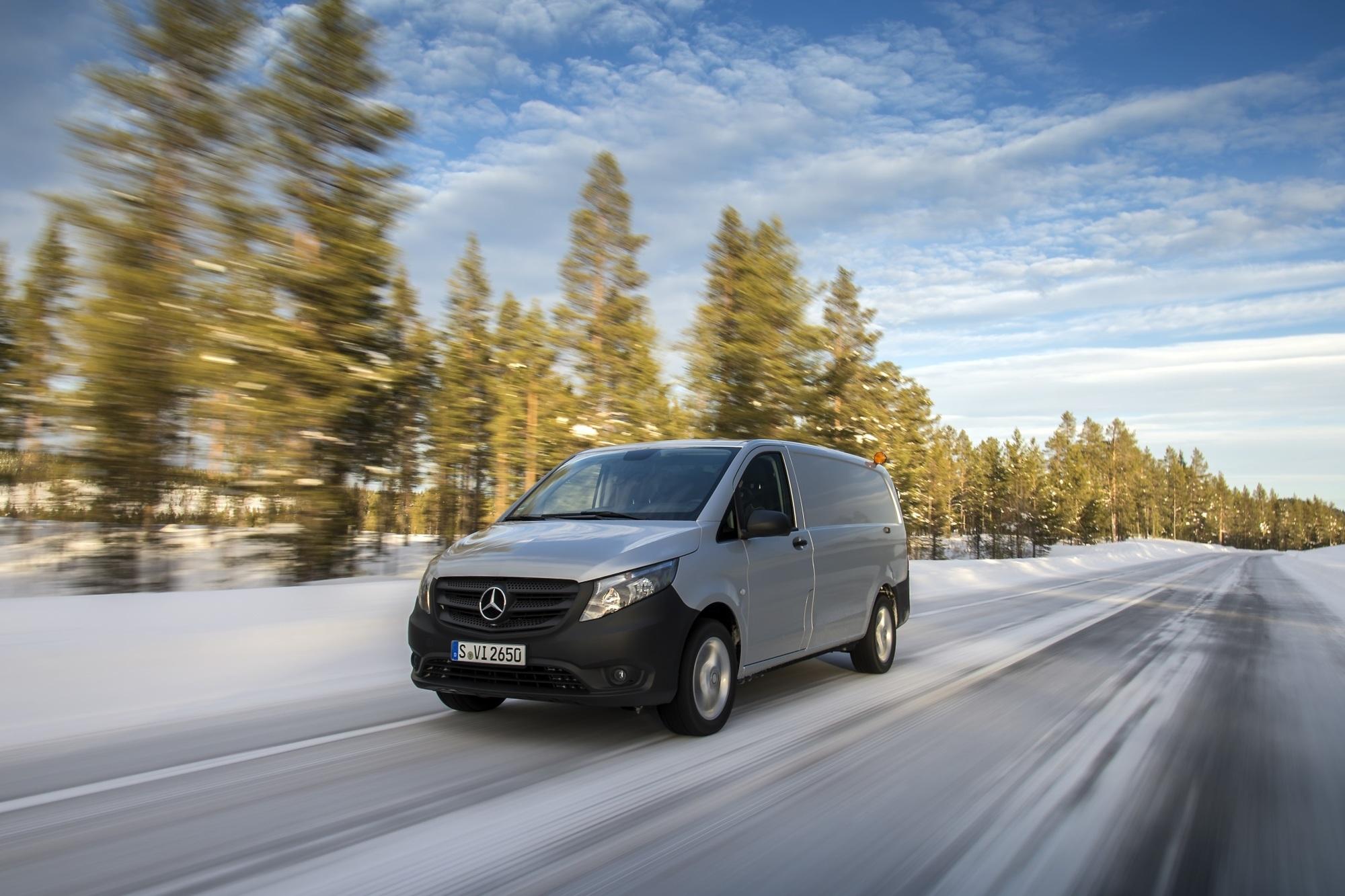 Fahrbericht: Mercedes Vito 4x4 - Per Du mit Eis und Schnee