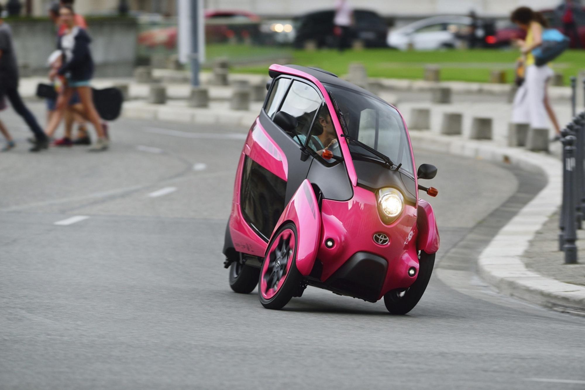Toyota I:Road - Auf drei Rädern in die Zukunft