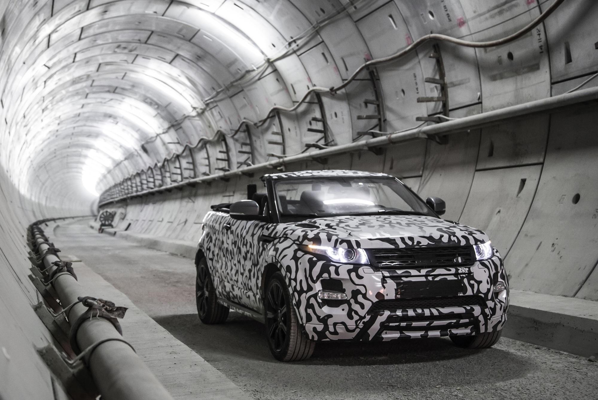 Range Rover Evoque Cabrio - Ein SUV lässt die Sonne rein