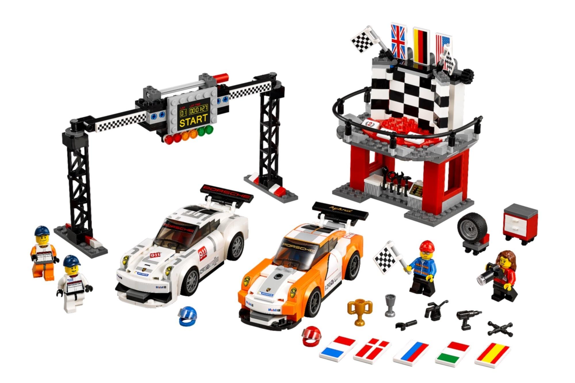 Lego-Supersportler - Auto-Träume fürs Kinderzimmer