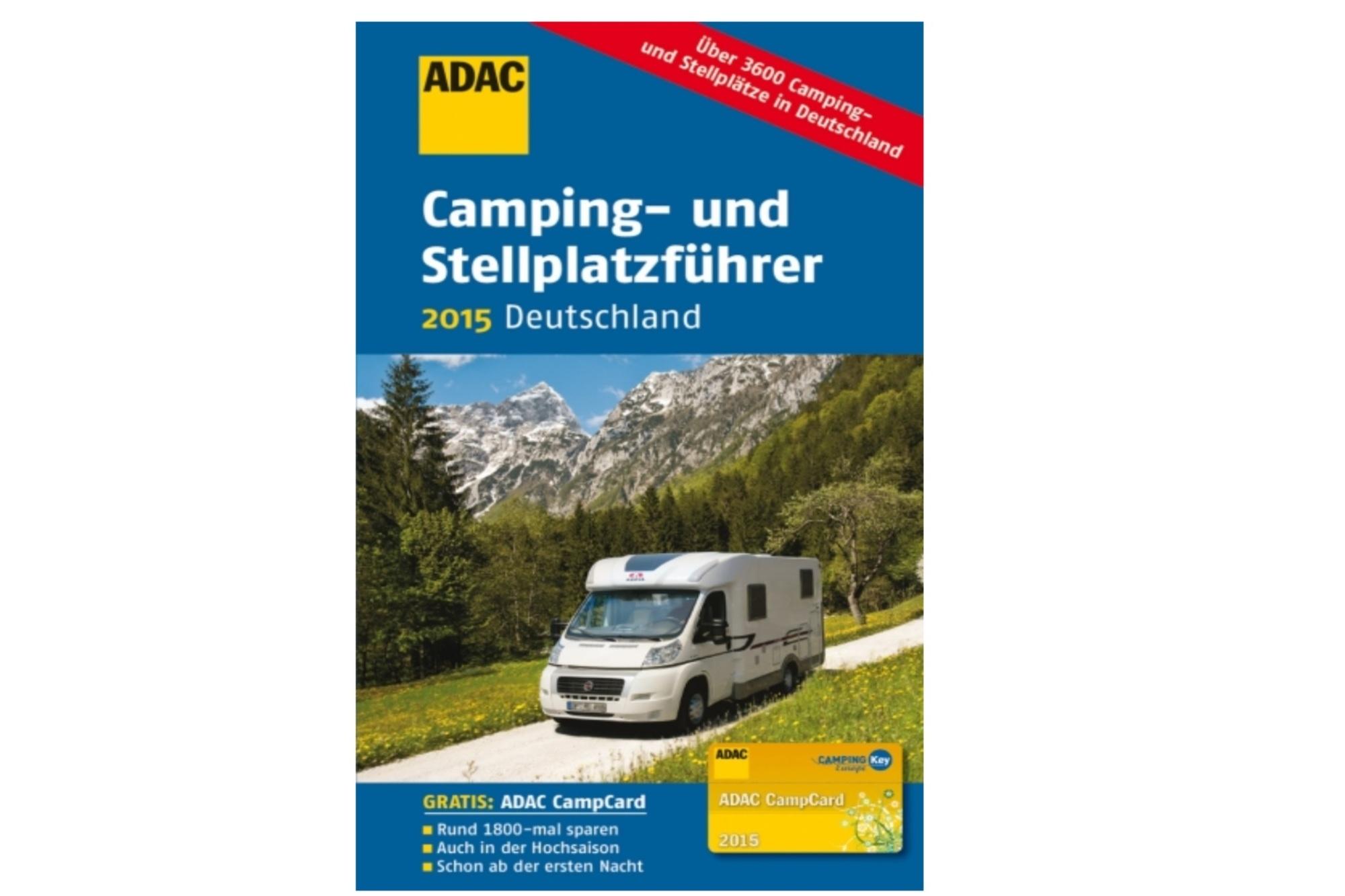 ADAC Camping- und Stellplatzführer 2015 - Alles zusammen