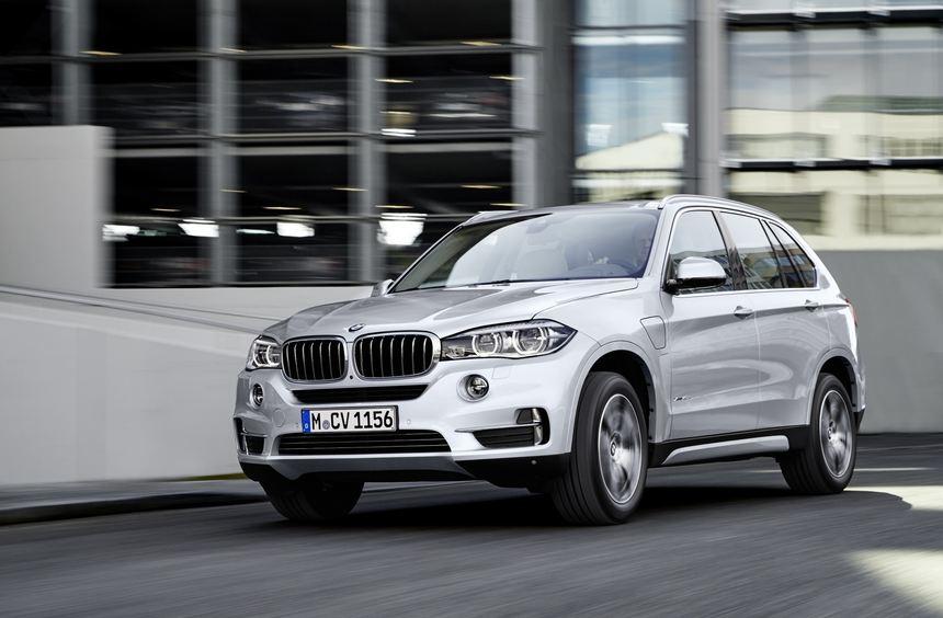Den BMW X5 gibt es künftig auch mit Plug-in-Hybrid