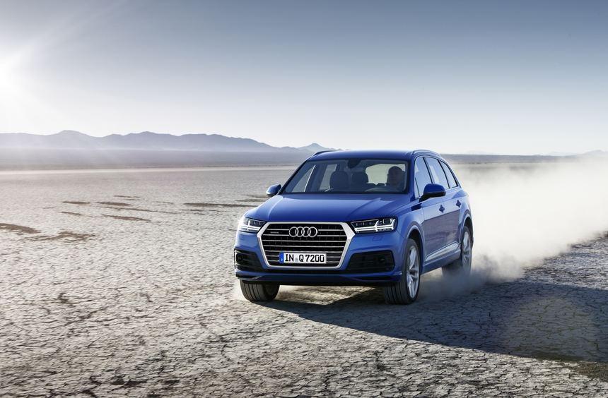 Ab Juni steht die jetzt bestellbare zweite Generation des Audi Q7 für mindestens 60.900 Euro beim ...