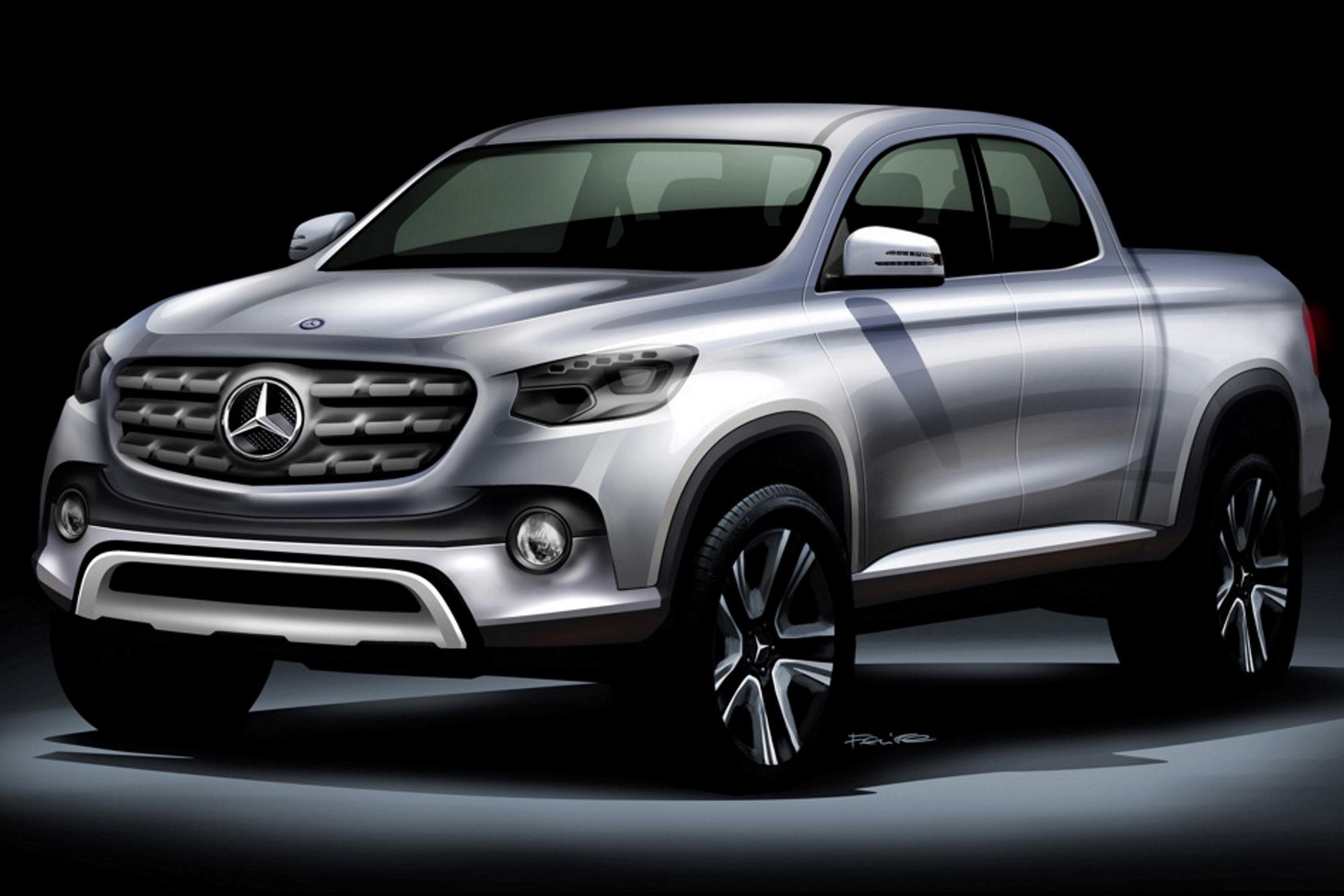Mercedes plant Pick-up - Der Premium-Pritschenwagen