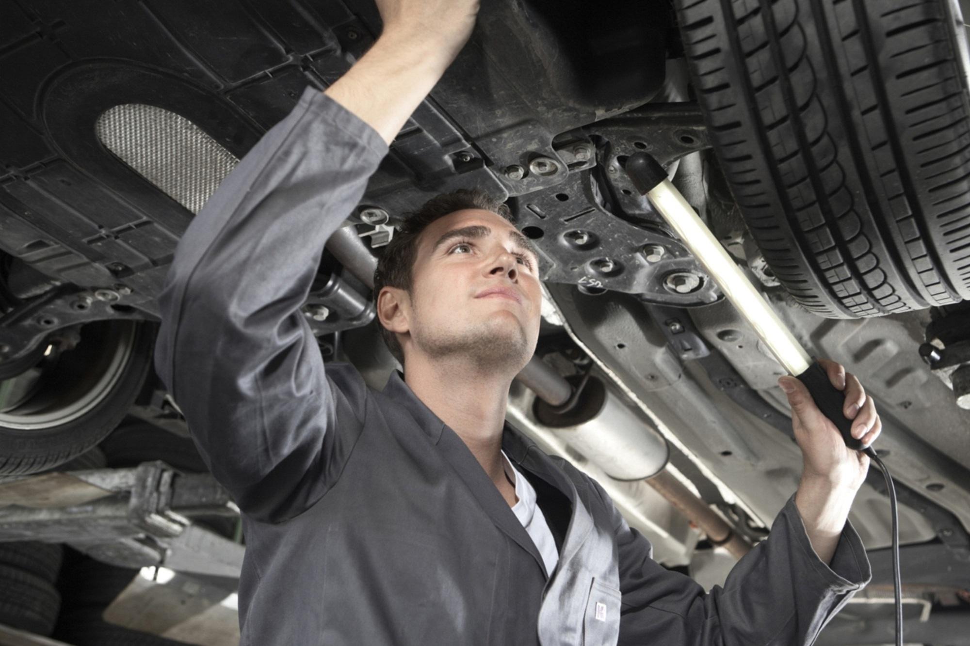 Reparaturen am Auto - Bremsen besonders anfällig
