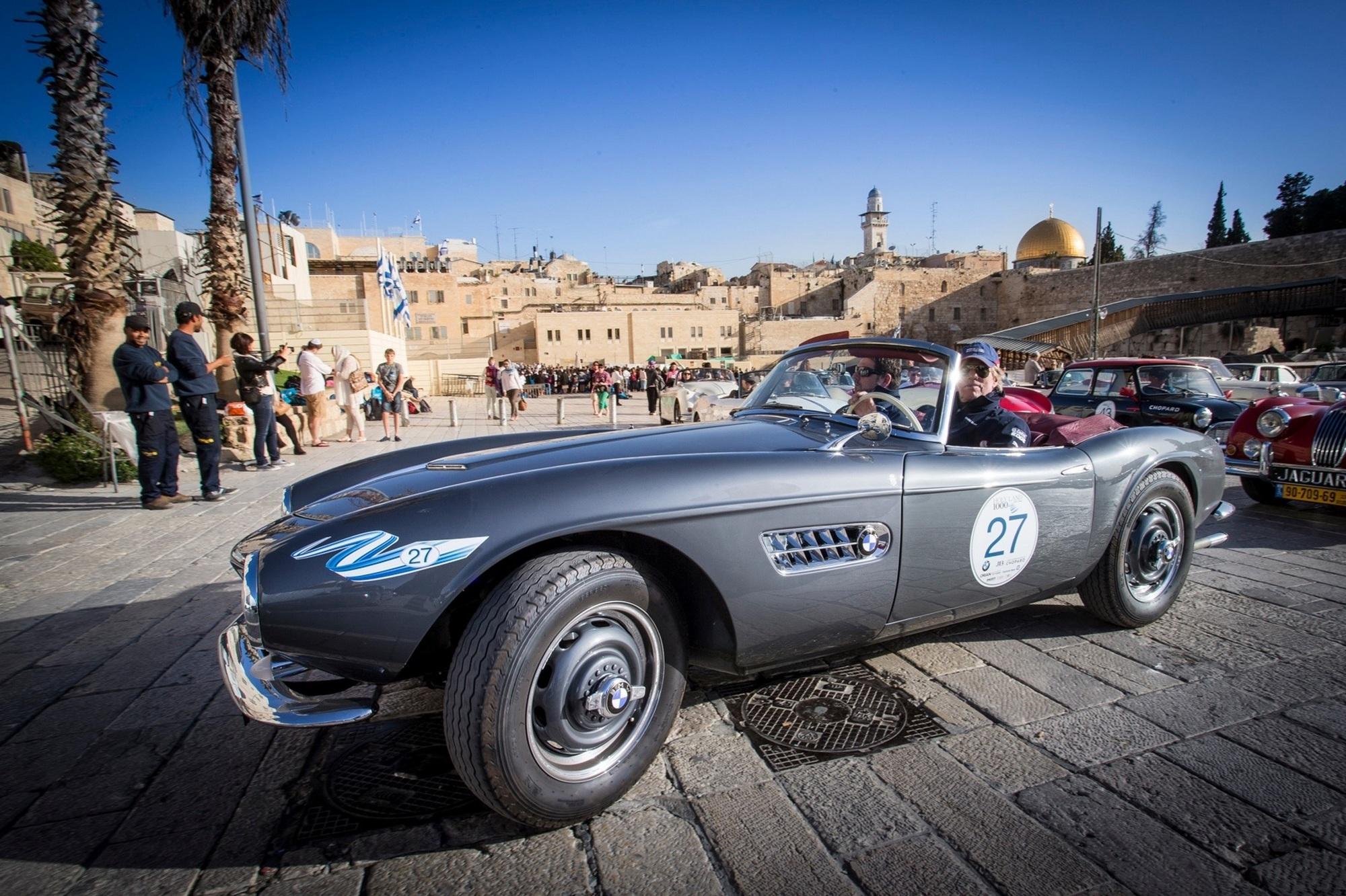 Panorama: Oldtimer-Rallye Holy Land 1000 - 3.000 Jahre Geschichte an fünf Tagen