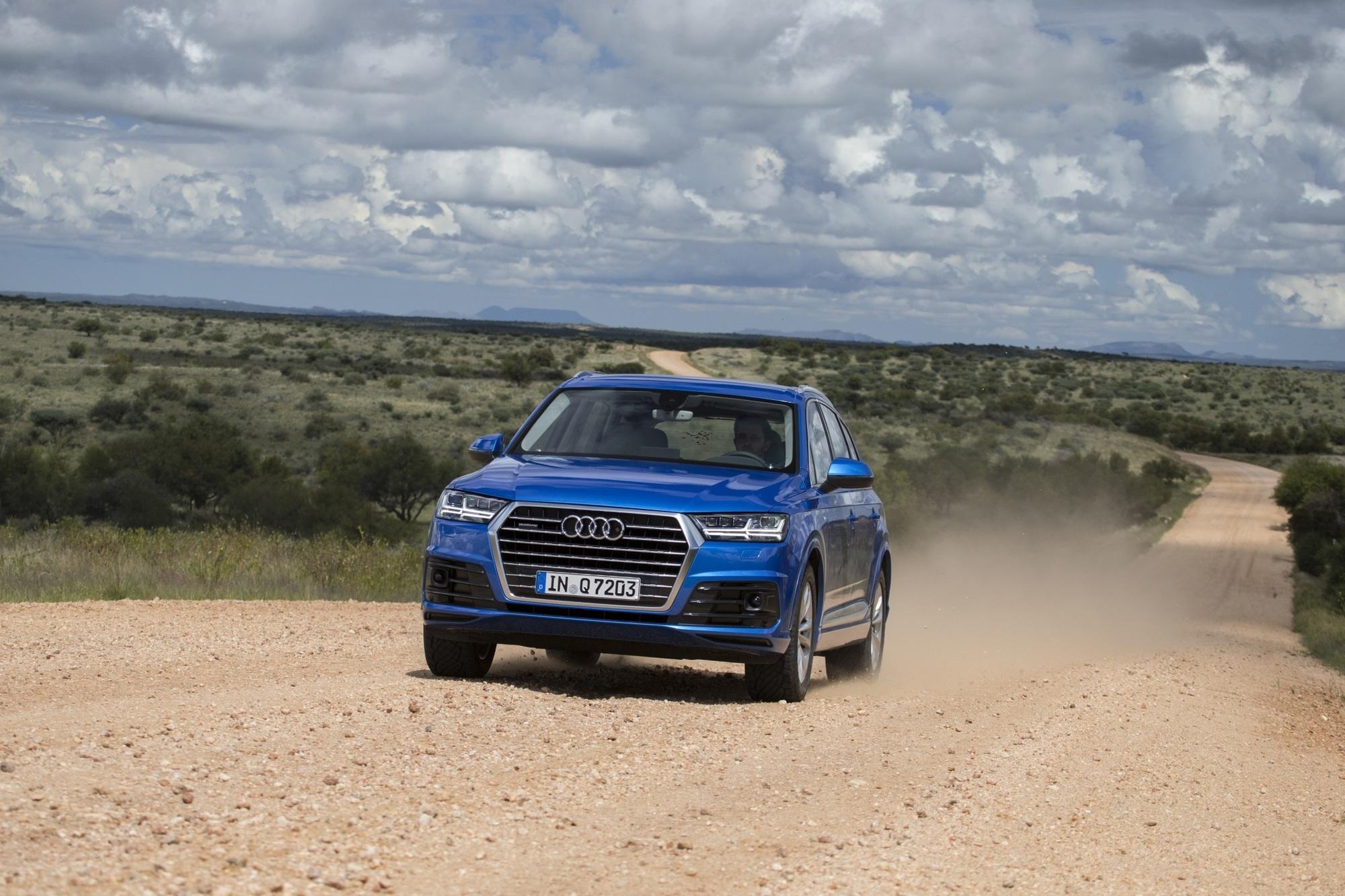 Erste Fahrt im Audi Q7 - Schwergewicht auf leichtem Fuß