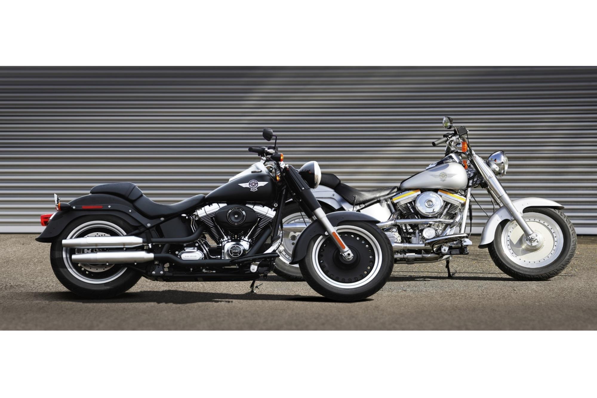 25 Jahre Harley-Davidson Fat Boy - Breit und lässig