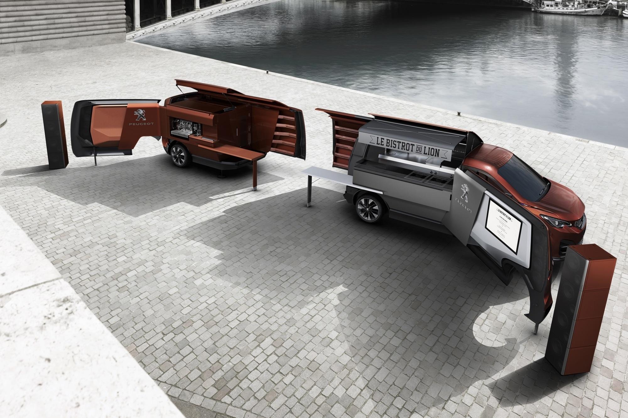 Peugeot Foodtruck - Essen auf Rädern