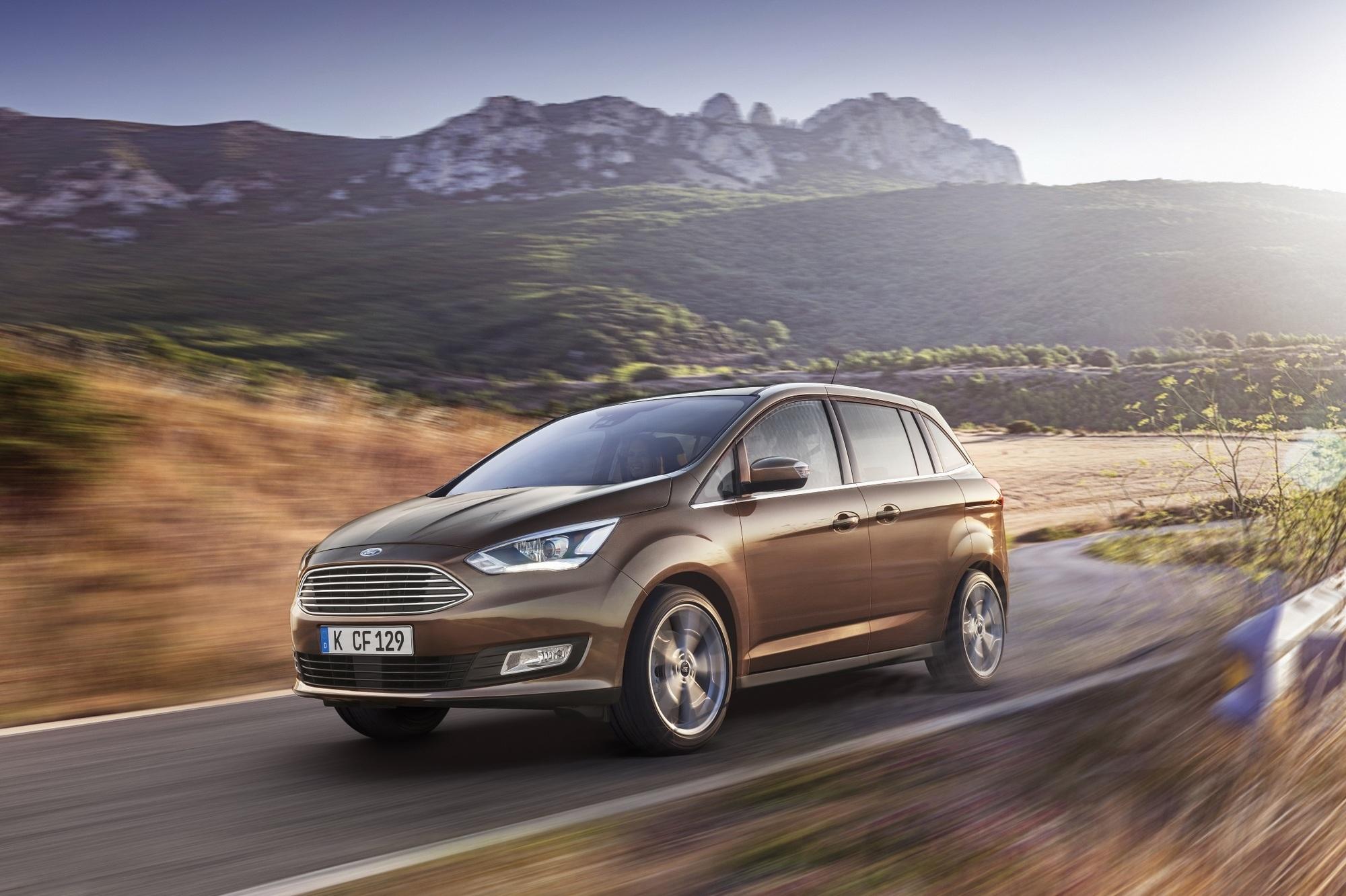 Fahrbericht: Ford C-Max/Grand C-Max - Deutlicher Ford-Schritt