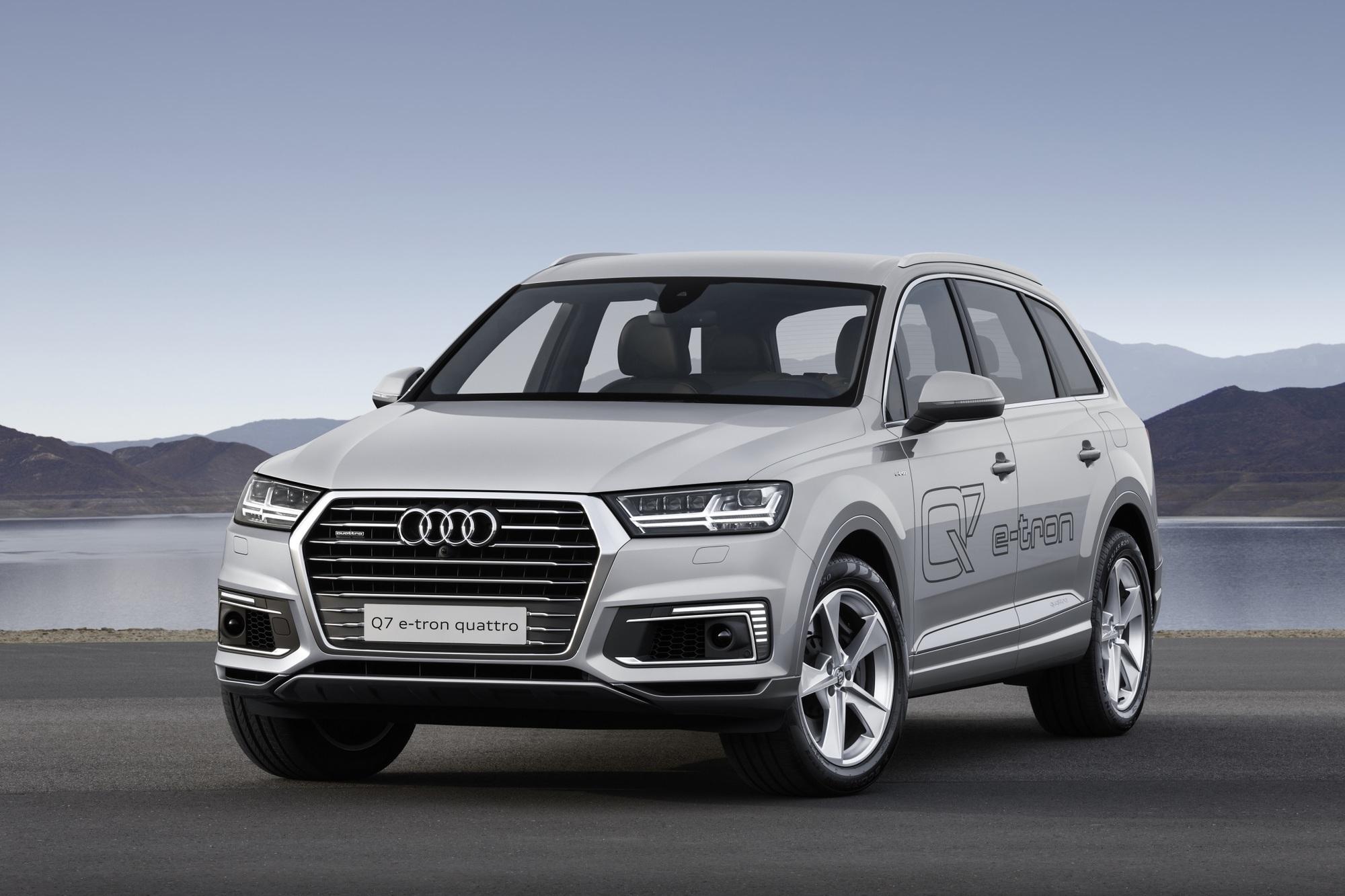 Vier Plug-In-Modelle auf der Automesse in Shanghai - Audi steckt ein