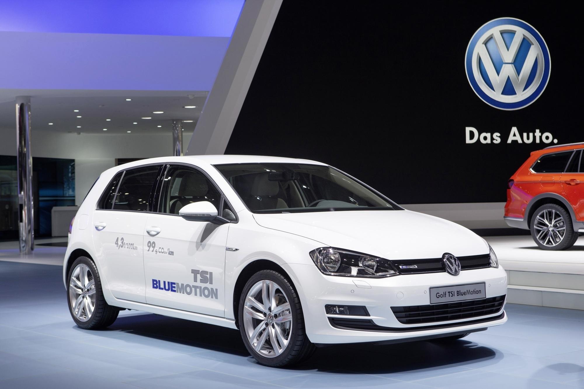 Sparsame Benziner von VW - Bluemotion für Diesel-Verweigerer in der Golf-Klasse