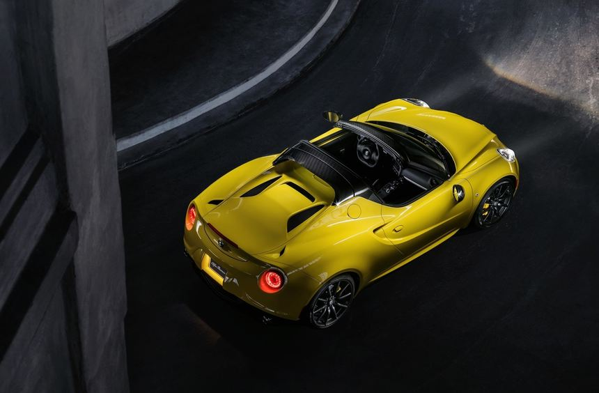 Alfas 4C Spider kostet 72.000 Euro
