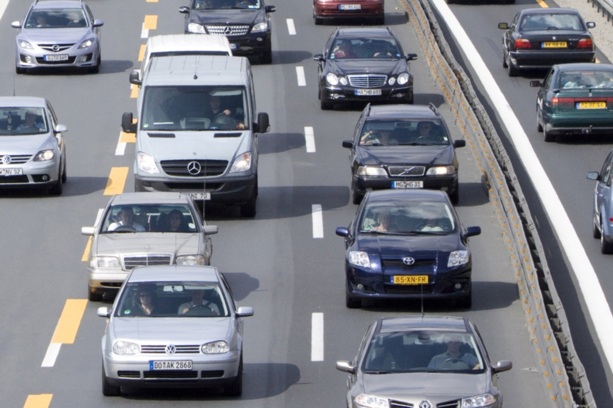 Turnusmäßige Verkehrszählung - Eins, zwei, drei