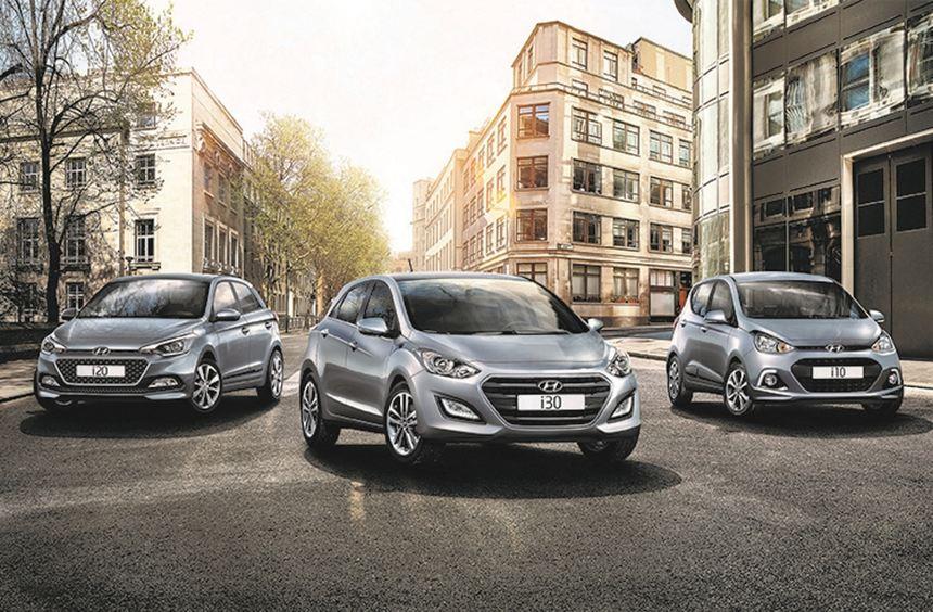 """Hyundai legt in den Baureihen i10, i20 und i30 jetzt Sondermodelle auf. In der Edition """"Yes! ..."""
